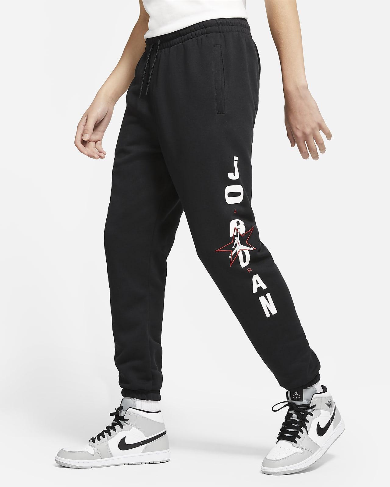 Pantalones de tejido Fleece con gráfico para hombre Jordan Legacy AJ6
