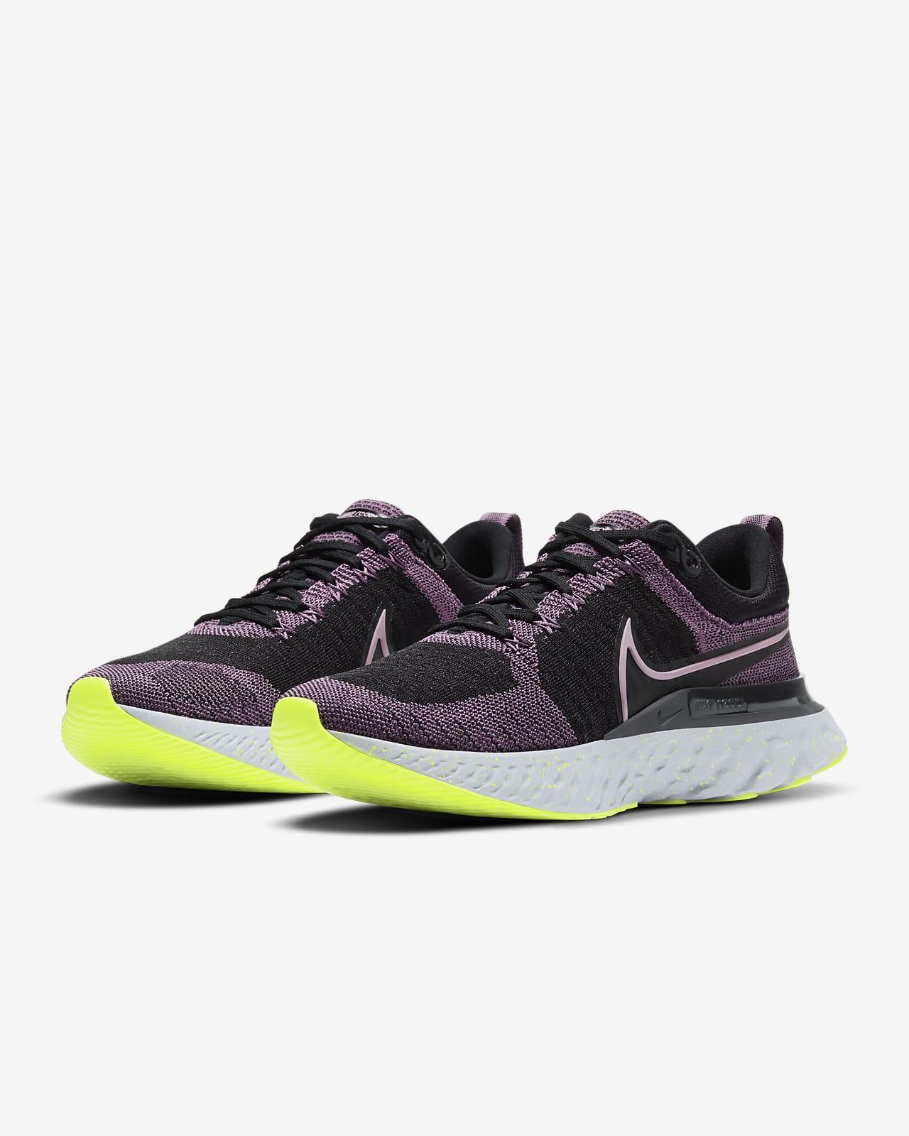 Nike React Infinity Run Flyknit 2 Women's Running Shoes. Nike LU