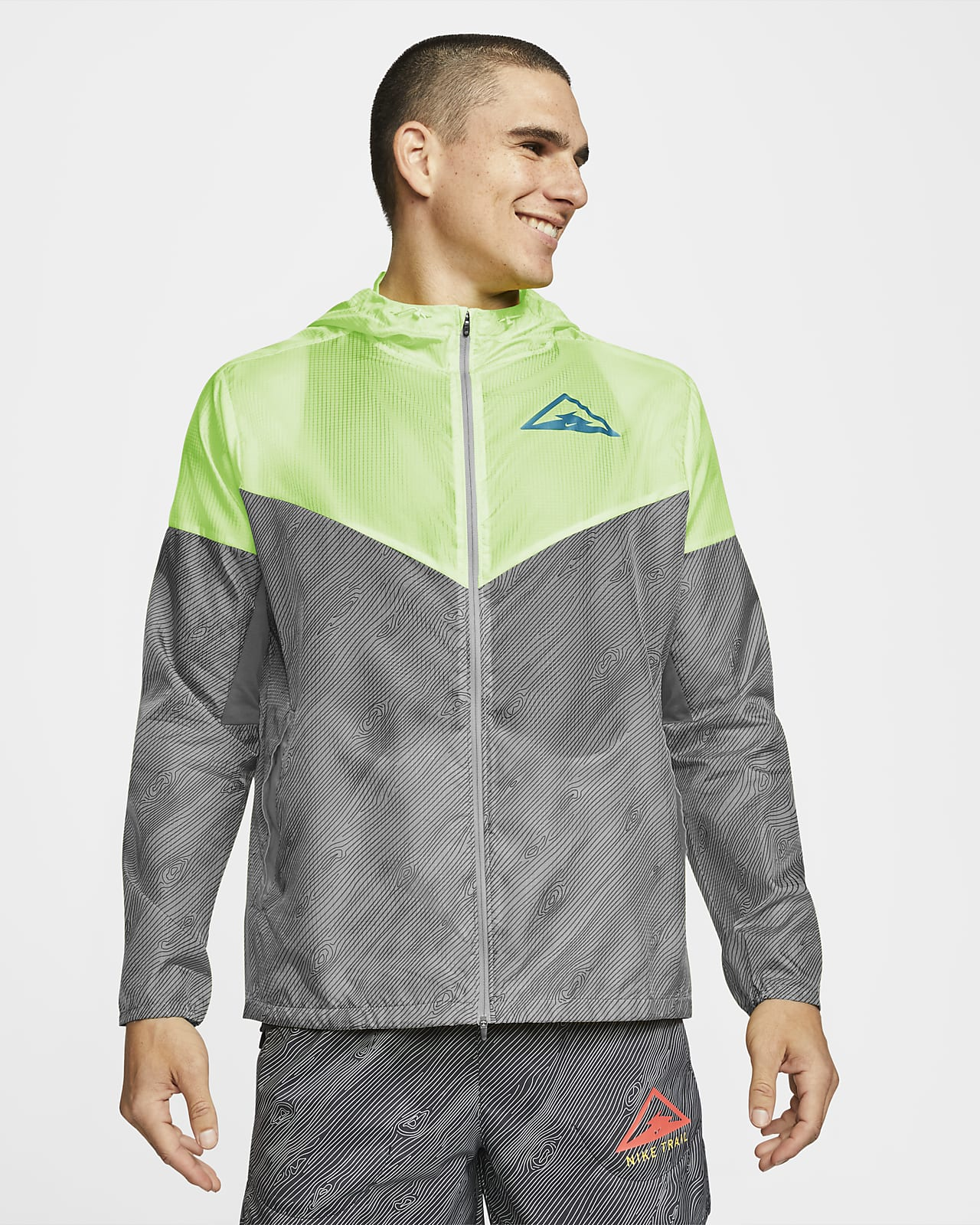 Nike Windrunner Jaqueta amb caputxa de trail running - Home