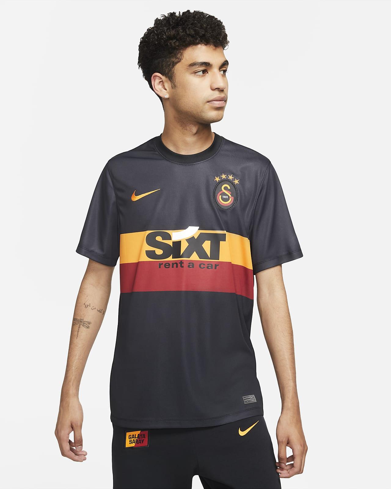 Galatasaray Deplasman Nike Dri-FIT Kısa Kollu Erkek Futbol Üstü