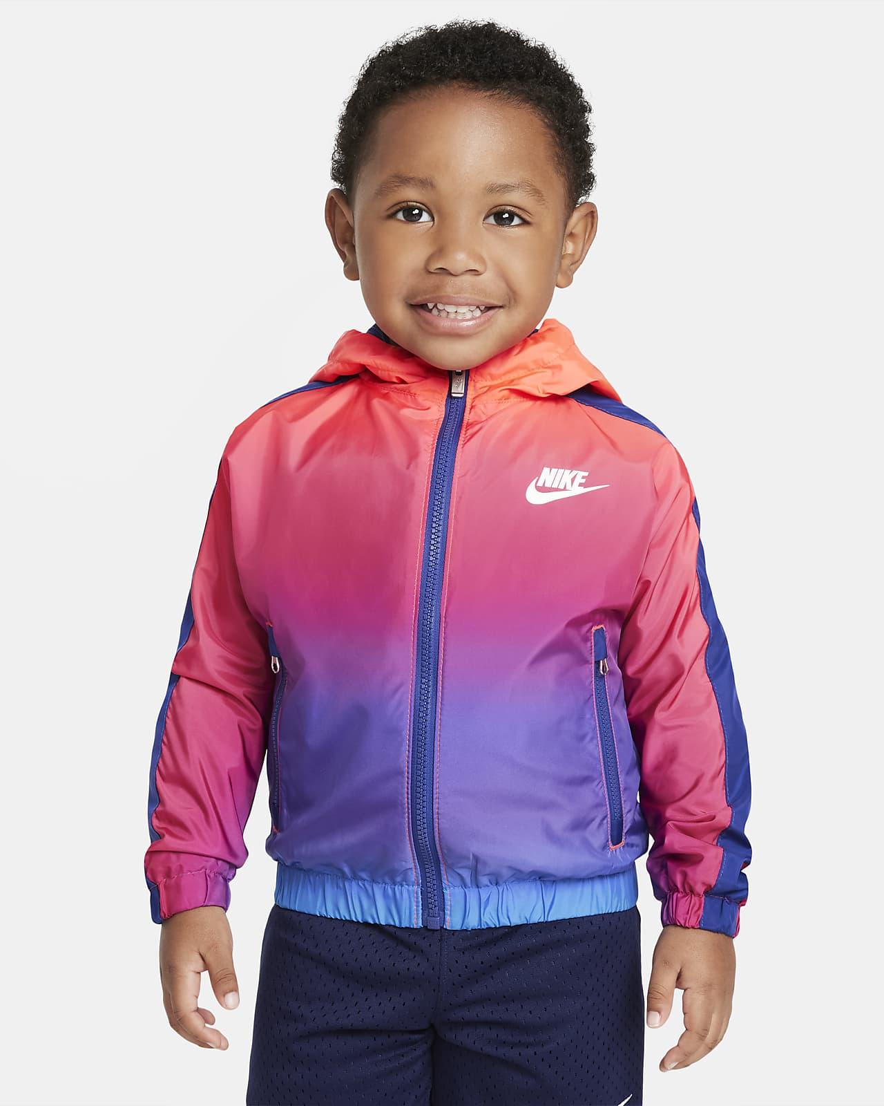 Chamarra infantil con cierre completo Nike Sportswear Windrunner