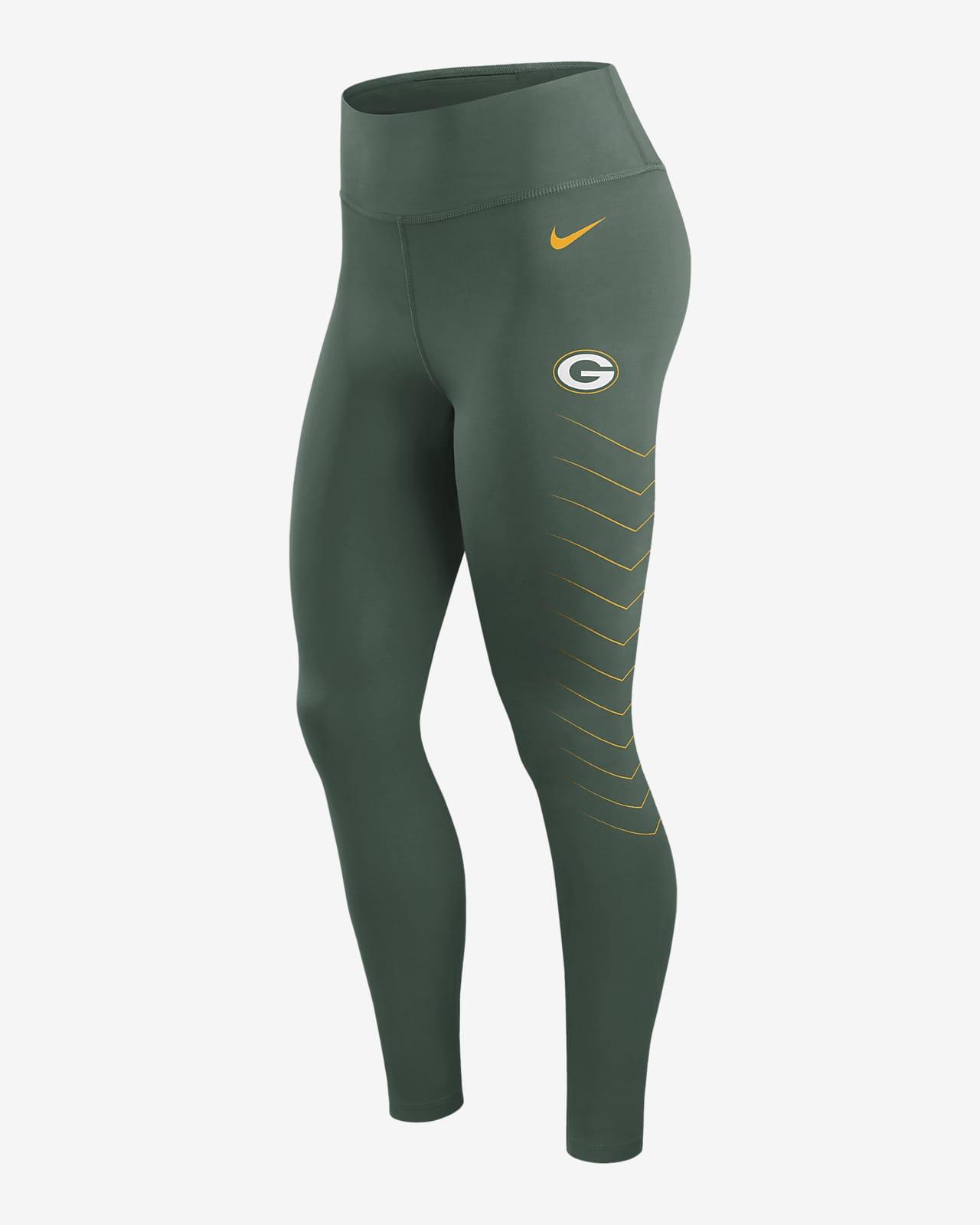 Leggings para mujer Nike Dri-FIT (NFL Green Bay Packers)