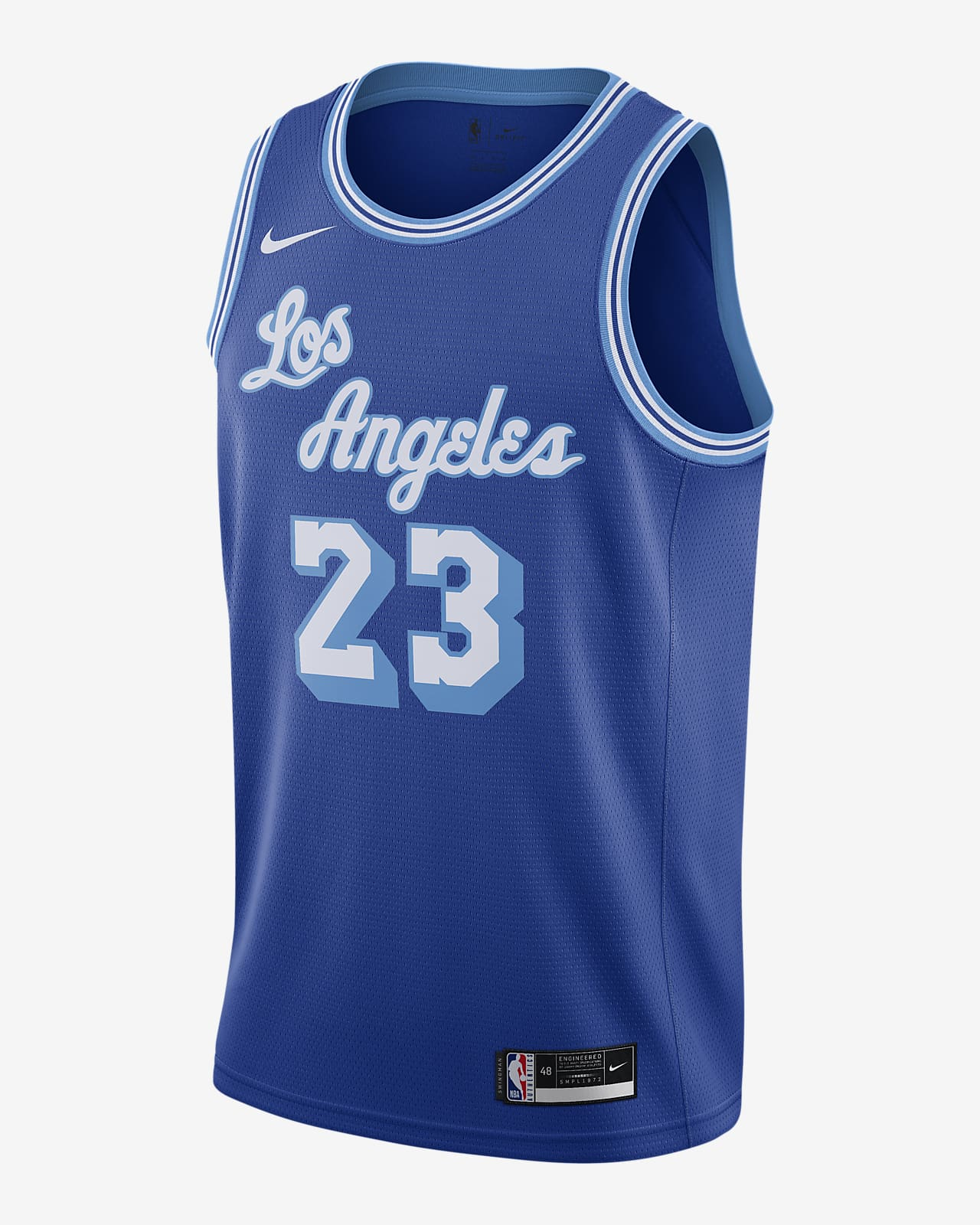 Los Angeles Lakers Classic Edition 2020 Nike NBA Swingman Jersey