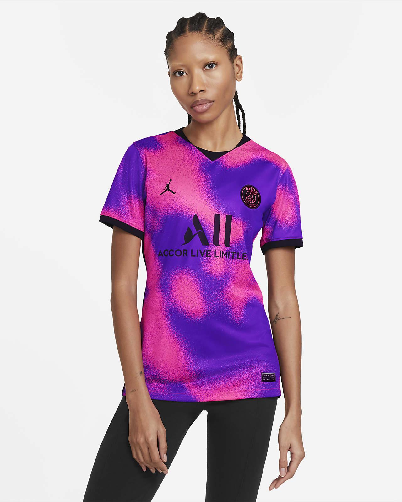 4e maillot de football Paris Saint-Germain 2020/21 Stadium pour Femme