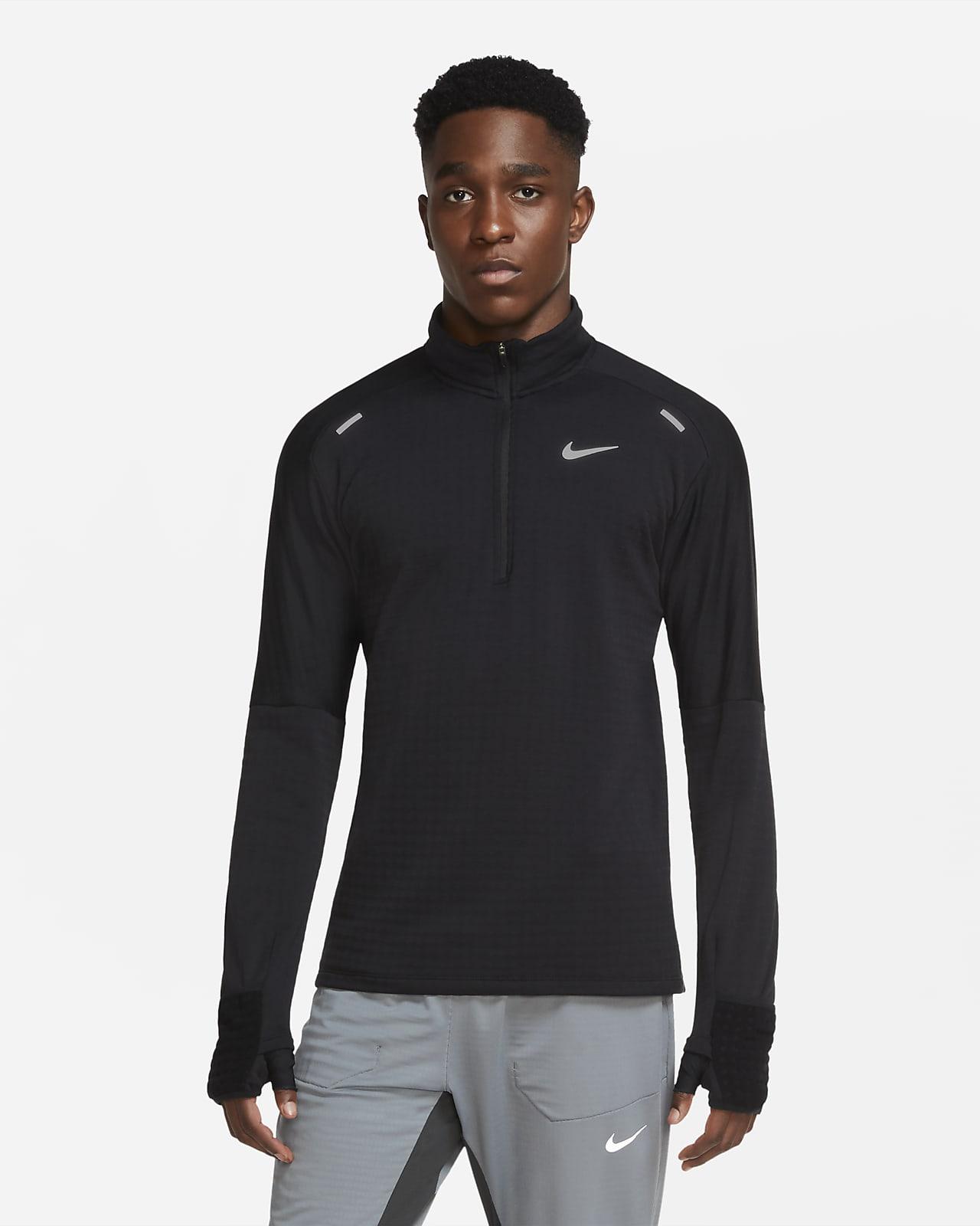 Nike Sphere Camiseta de running con media cremallera - Hombre