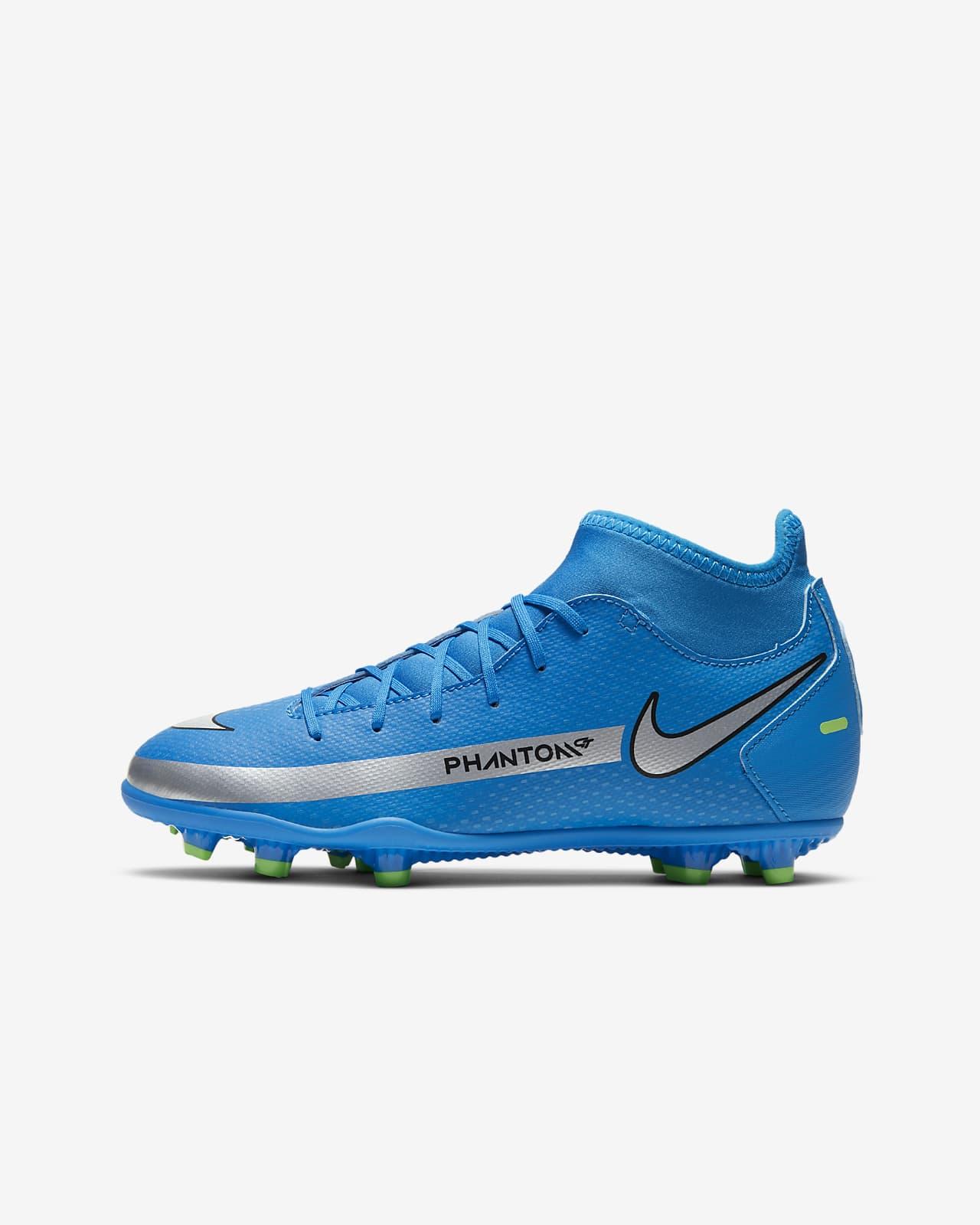 Chaussure de football à crampons multi-surfaces Nike Jr. Phantom GT Club Dynamic Fit MG pour Jeune enfant/Enfant plus âgé