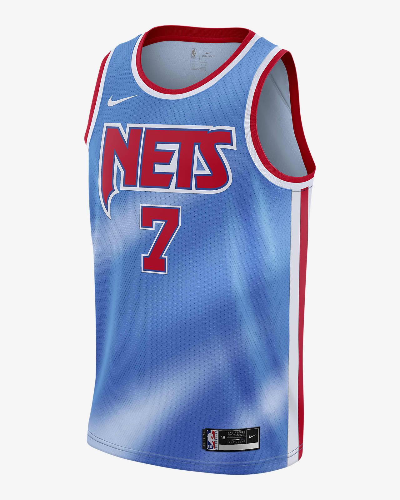 2020 赛季布鲁克林篮网队 Classic Edition Nike NBA Swingman Jersey 男子球衣