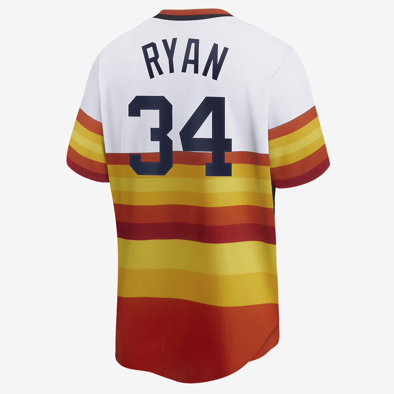 MLB Houston Astros (Nolan Ryan) Men's Cooperstown Baseball Jersey