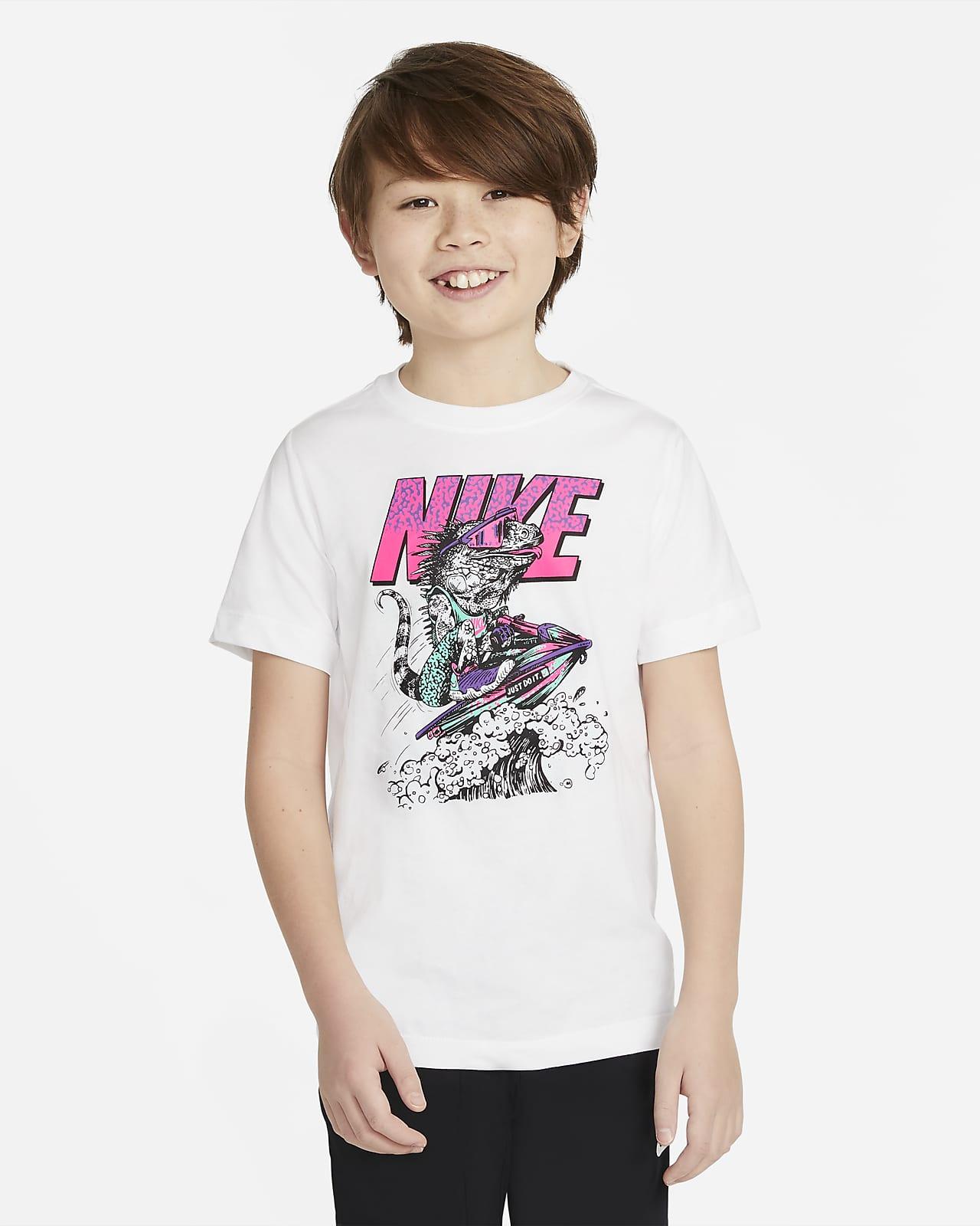 Nike Sportswear-T-shirt til større børn (drenge)