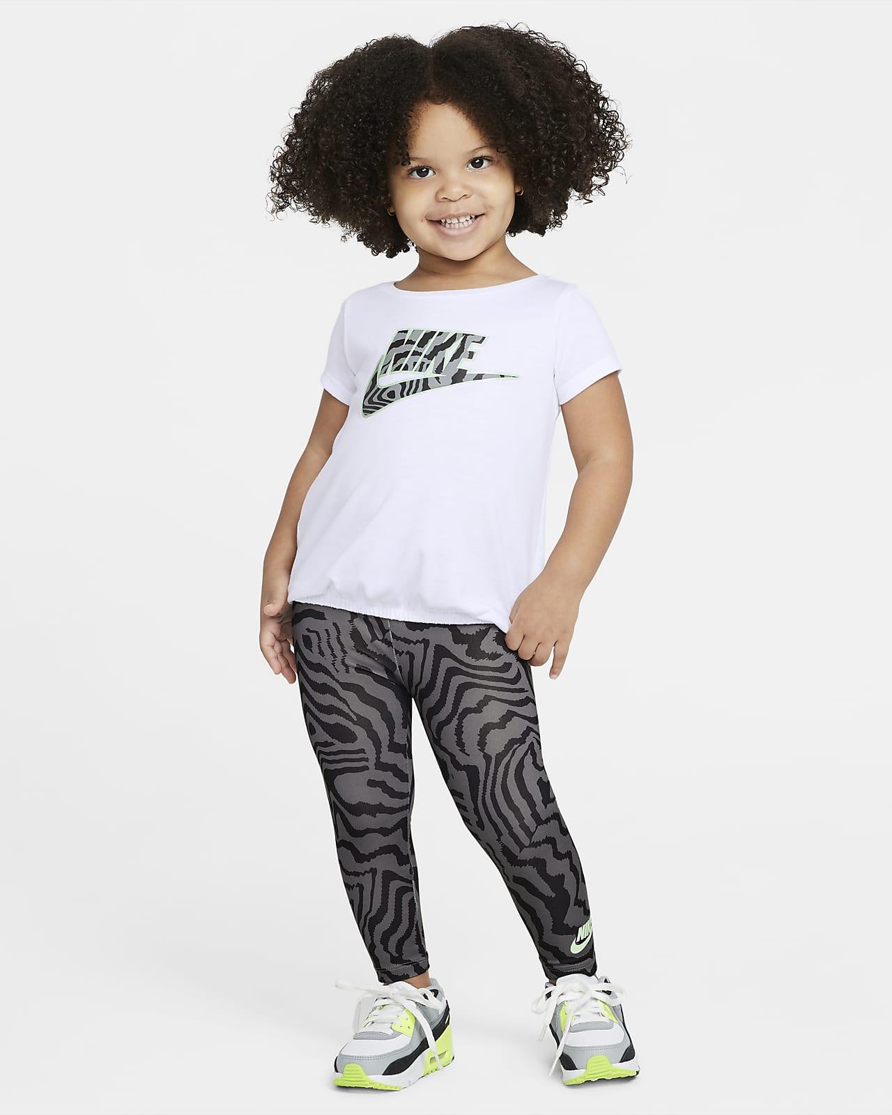 Completo con leggings e maglia stampati Nike - Bimbi piccoli