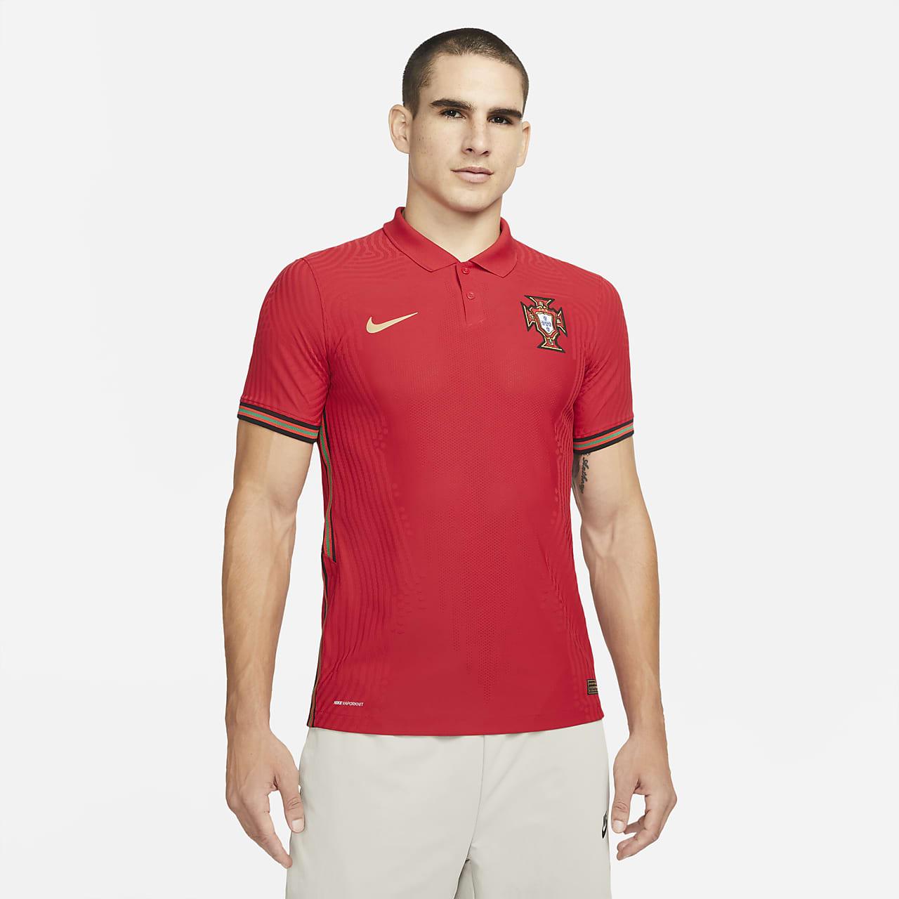 Respeto a ti mismo Cuerpo Deliberadamente  Camiseta de fútbol de local para hombre Vapor Match de Portugal 2020. Nike .com