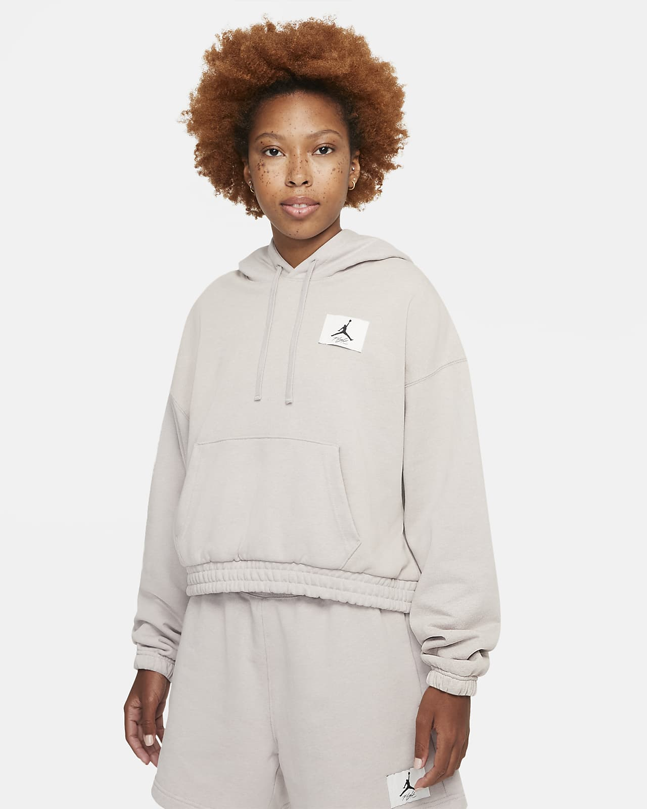 Женская флисовая худи Jordan Essentials