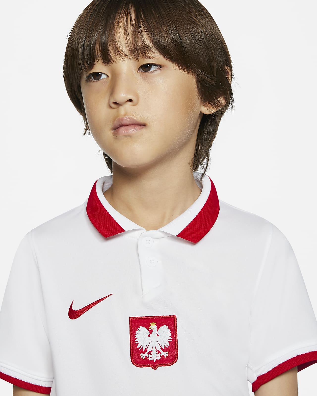 Divisa da calcio Polonia 2020 per bambini - Home