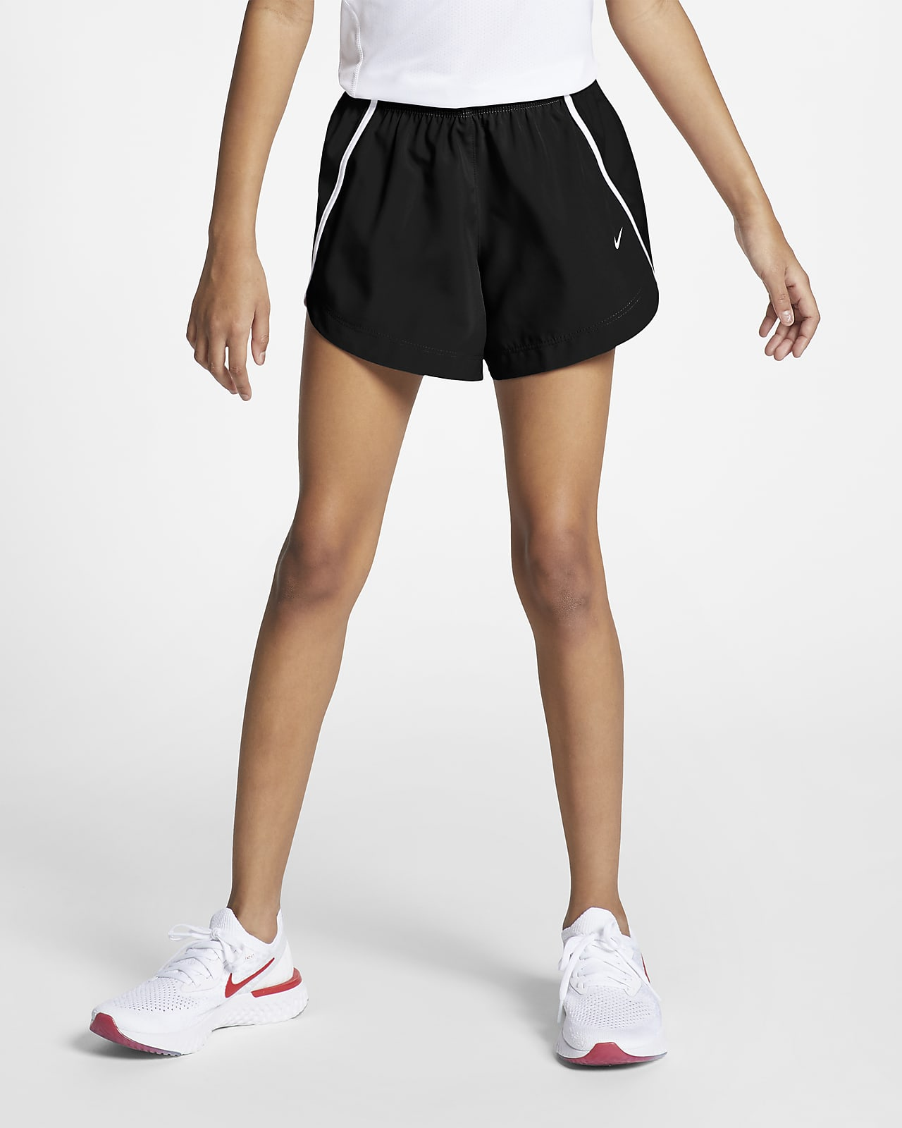 Nike Dry løpeshorts for store barn (jente)