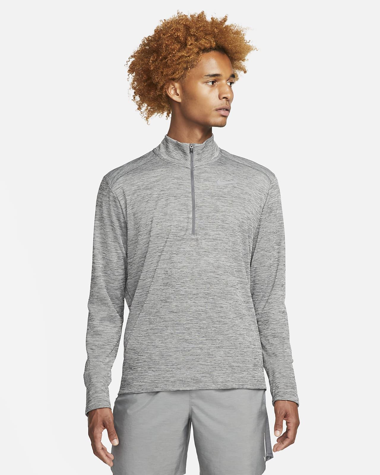 Prenda para la parte superior de running de medio cierre para hombre Nike Pacer