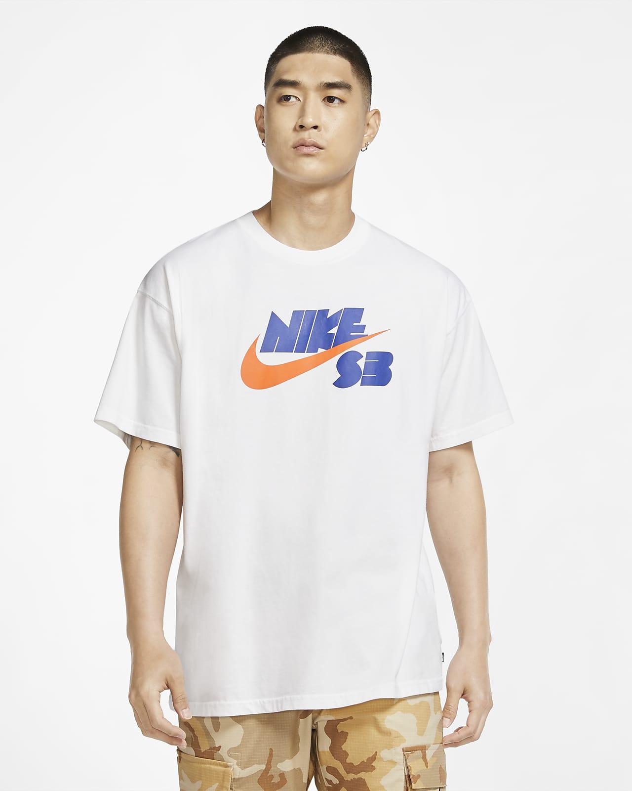 Skateboard-t-shirt med säsongslogga Nike SB för män