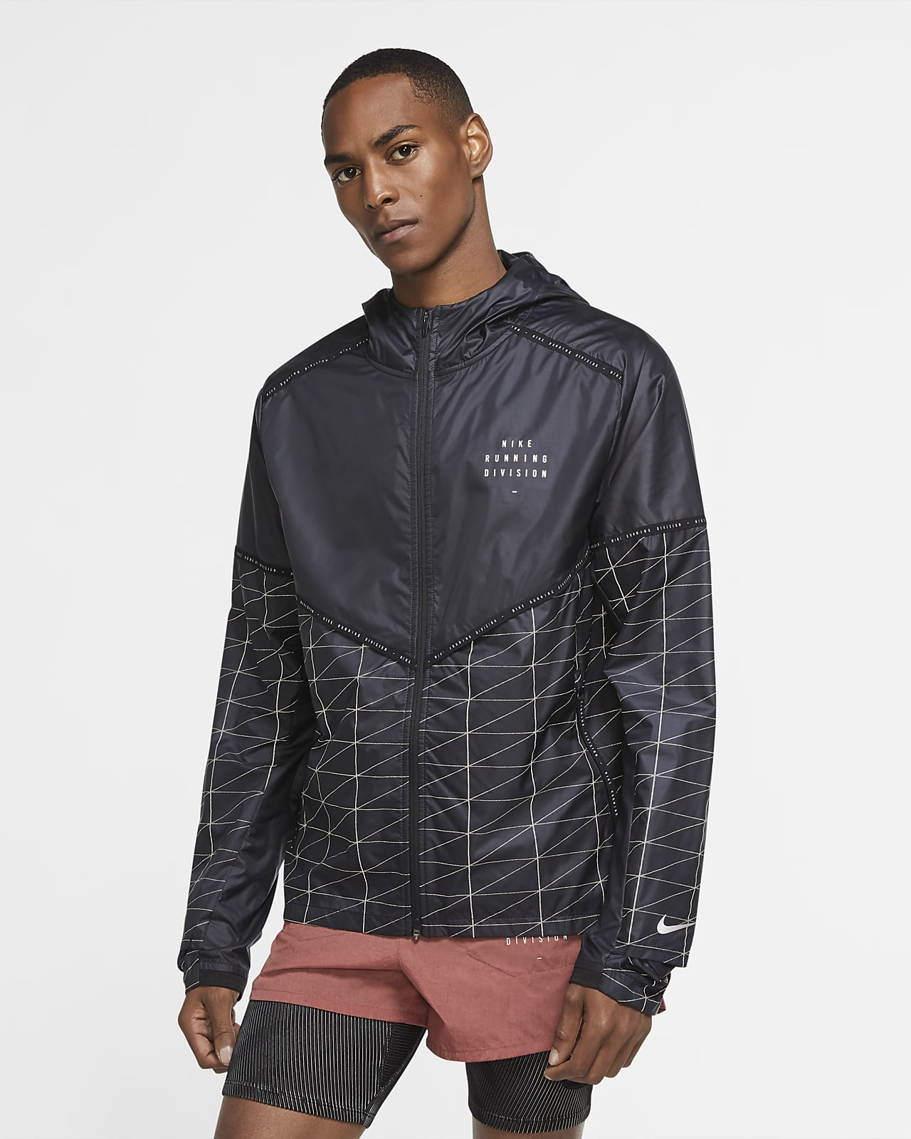 Nike Flash Run Division Chaqueta de running - Hombre