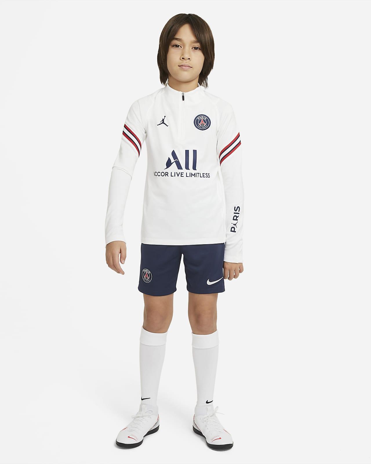 Maglia da calcio per allenamento Paris Saint-Germain Strike per ragazzi - Home