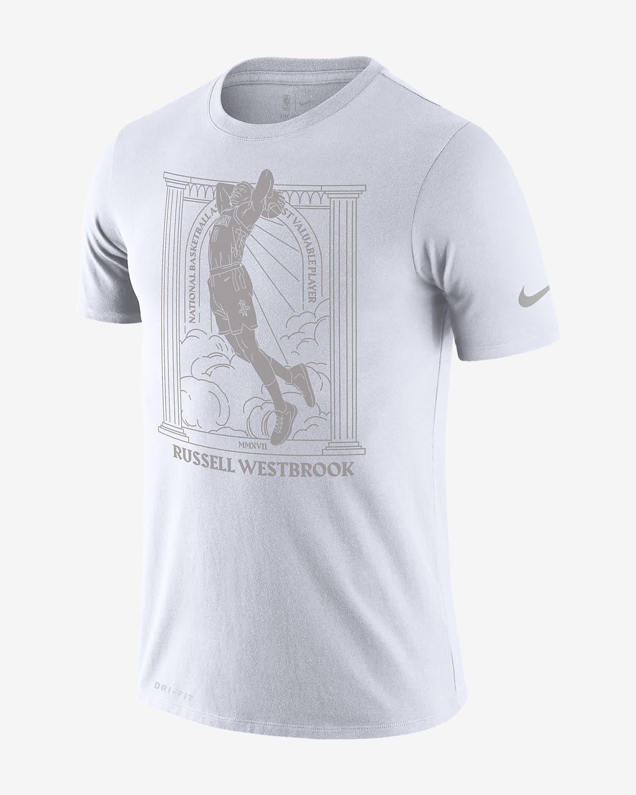 ラッセル ウェストブルック ロケッツ MVP メンズ ナイキ Dri-FIT NBA Tシャツ