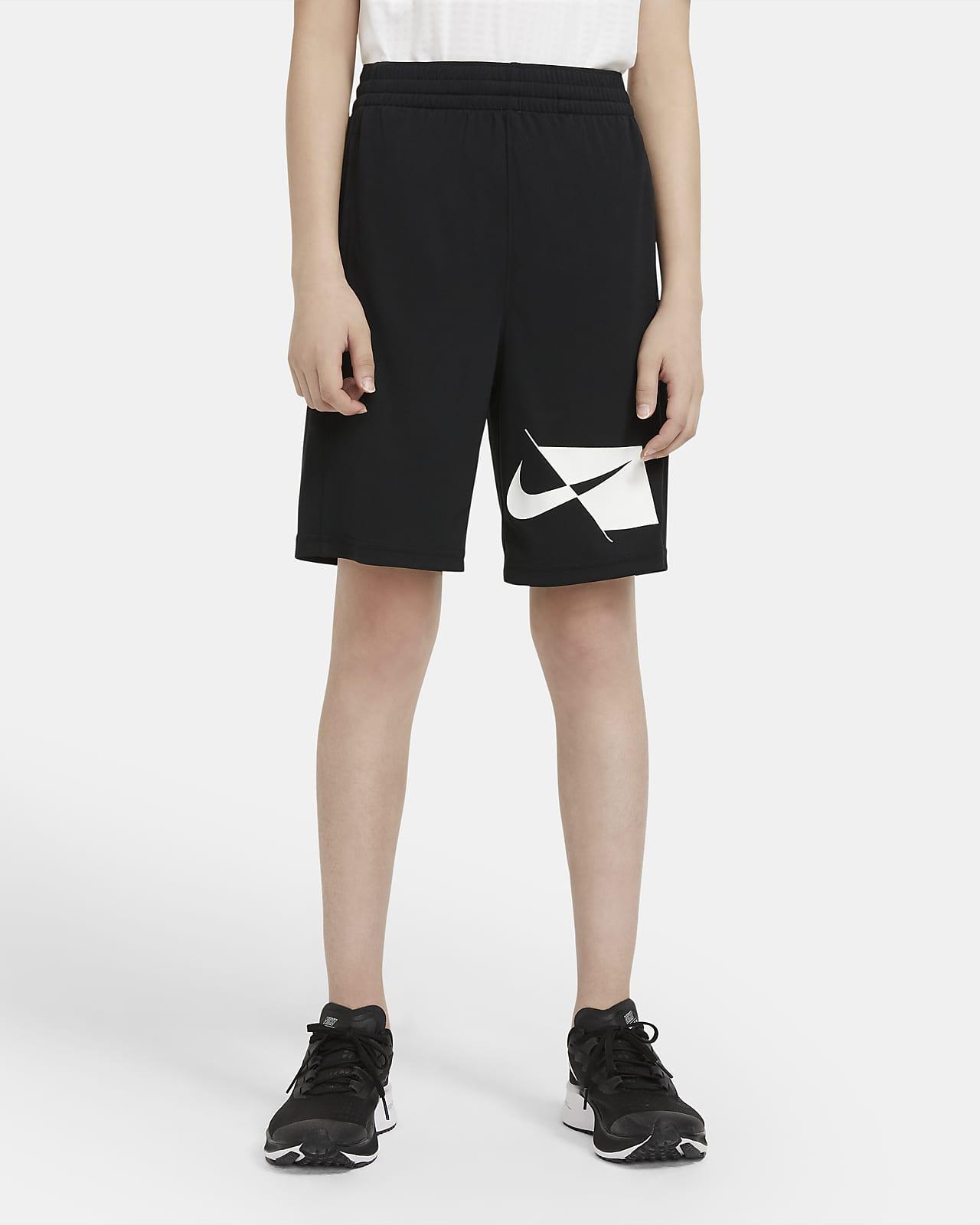 Nike Dri-FIT-træningsshorts til store børn (drenge)