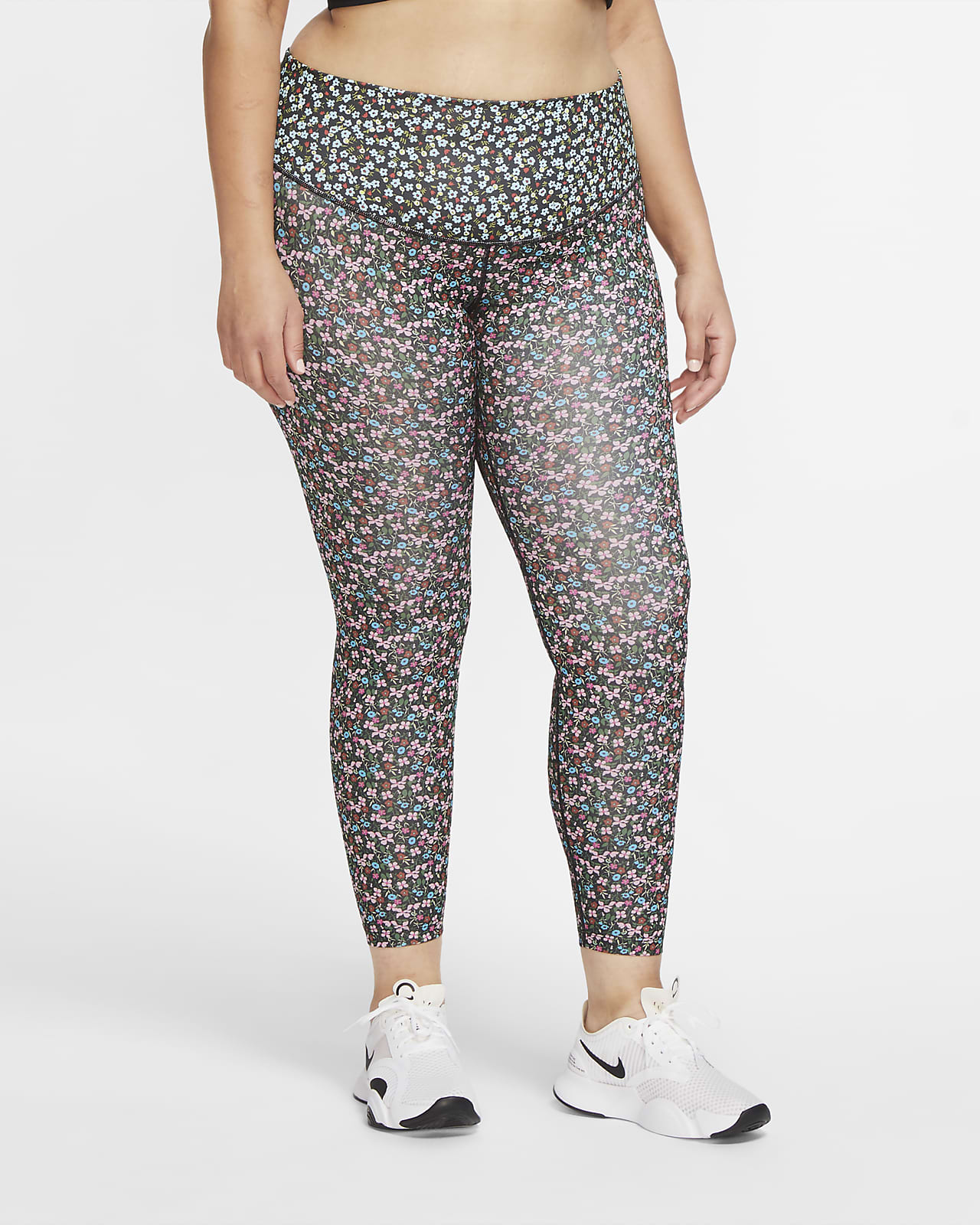 Nike One Women's 7/8 Leggings (Plus size)
