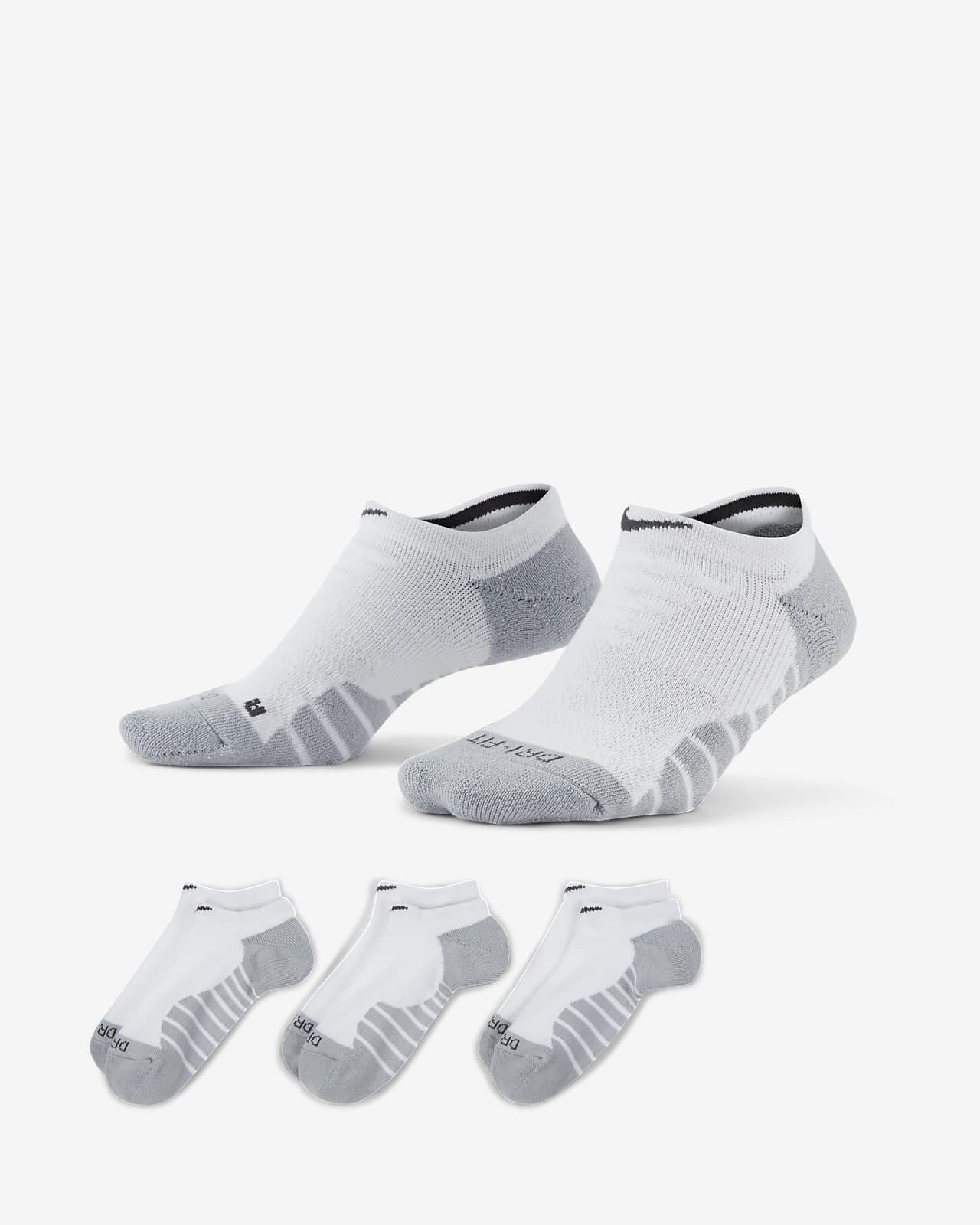 Nike Everyday Max Cushioned Women's Training No-Show Socks (3 Pairs)
