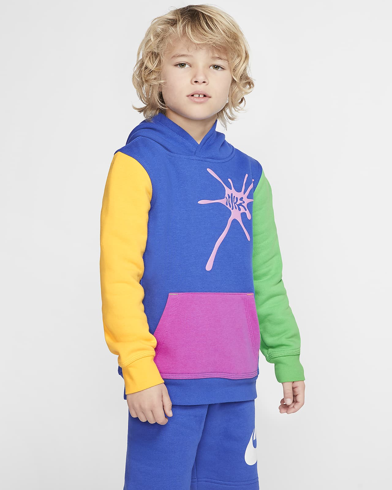 Nike Little Kids' Fleece Pullover Hoodie