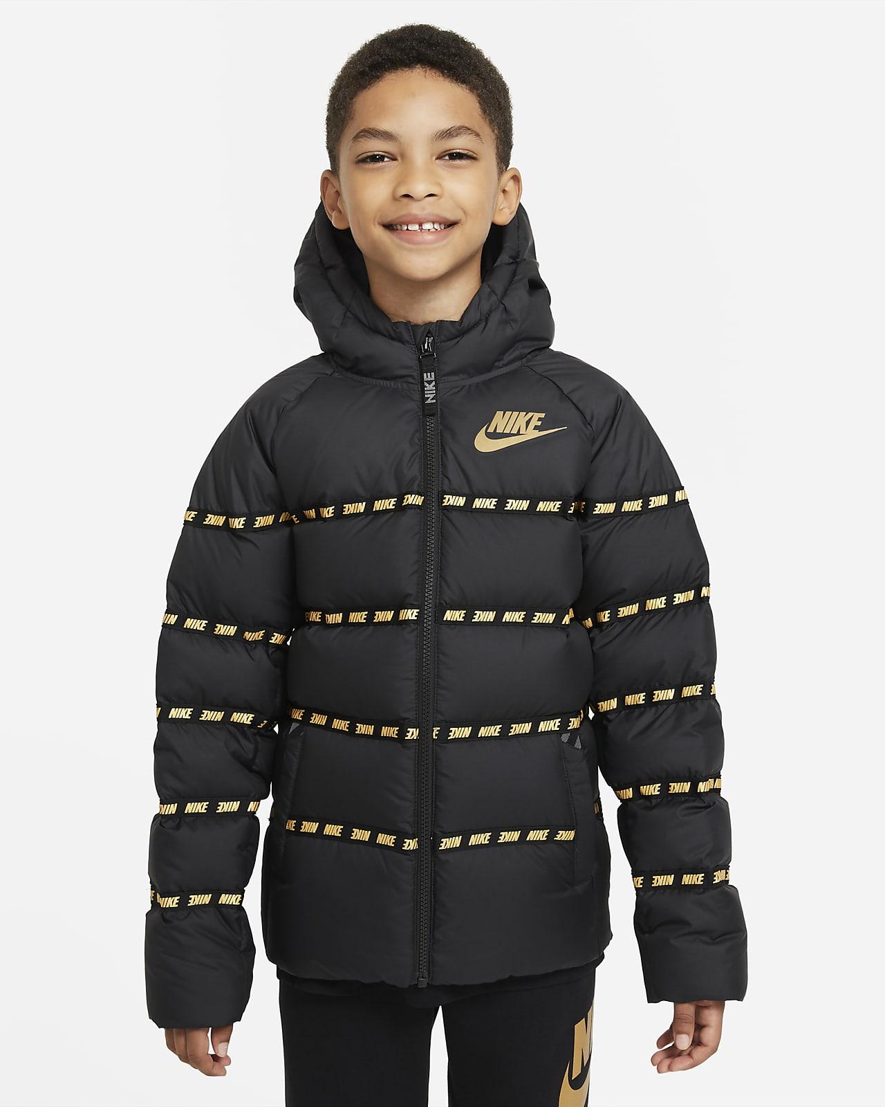 Chamarra Con Relleno De Plumas Para Ninos Talla Grande Nike Sportswear Nike Com