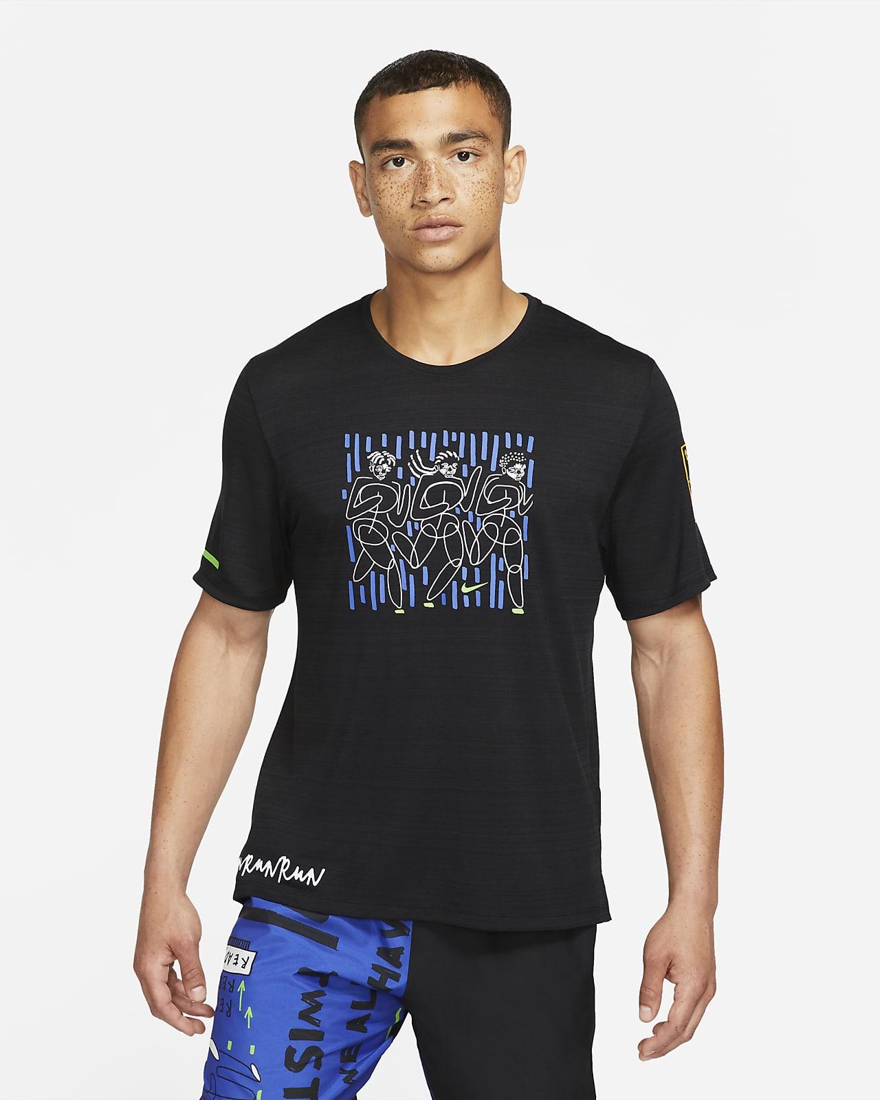 Haut de running Nike Dri-FIT Miler Hackney pour Homme