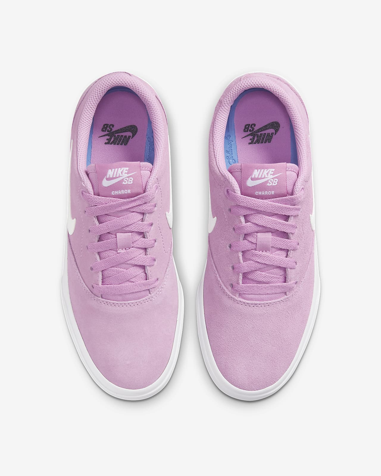 Chaussure de skateboard Nike SB Charge Suede pour Femme. Nike LU