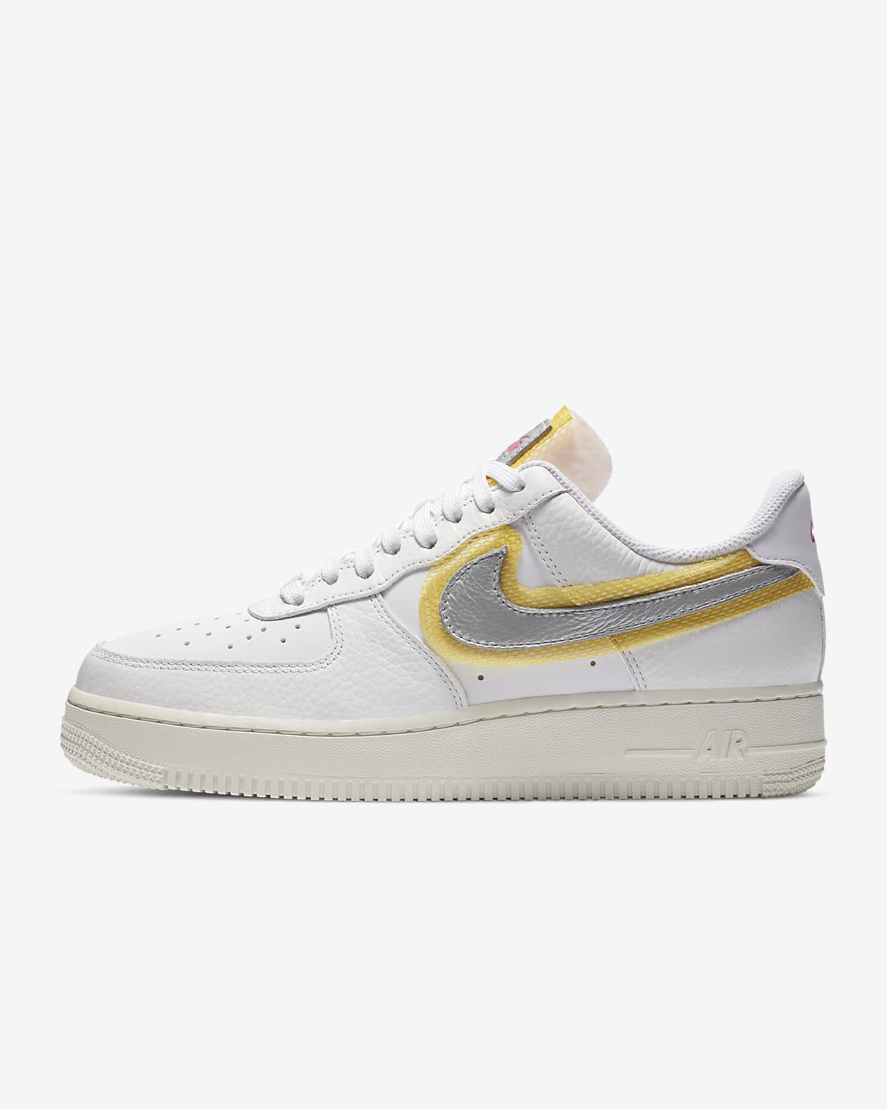 basket nike air force 1 femme jaune