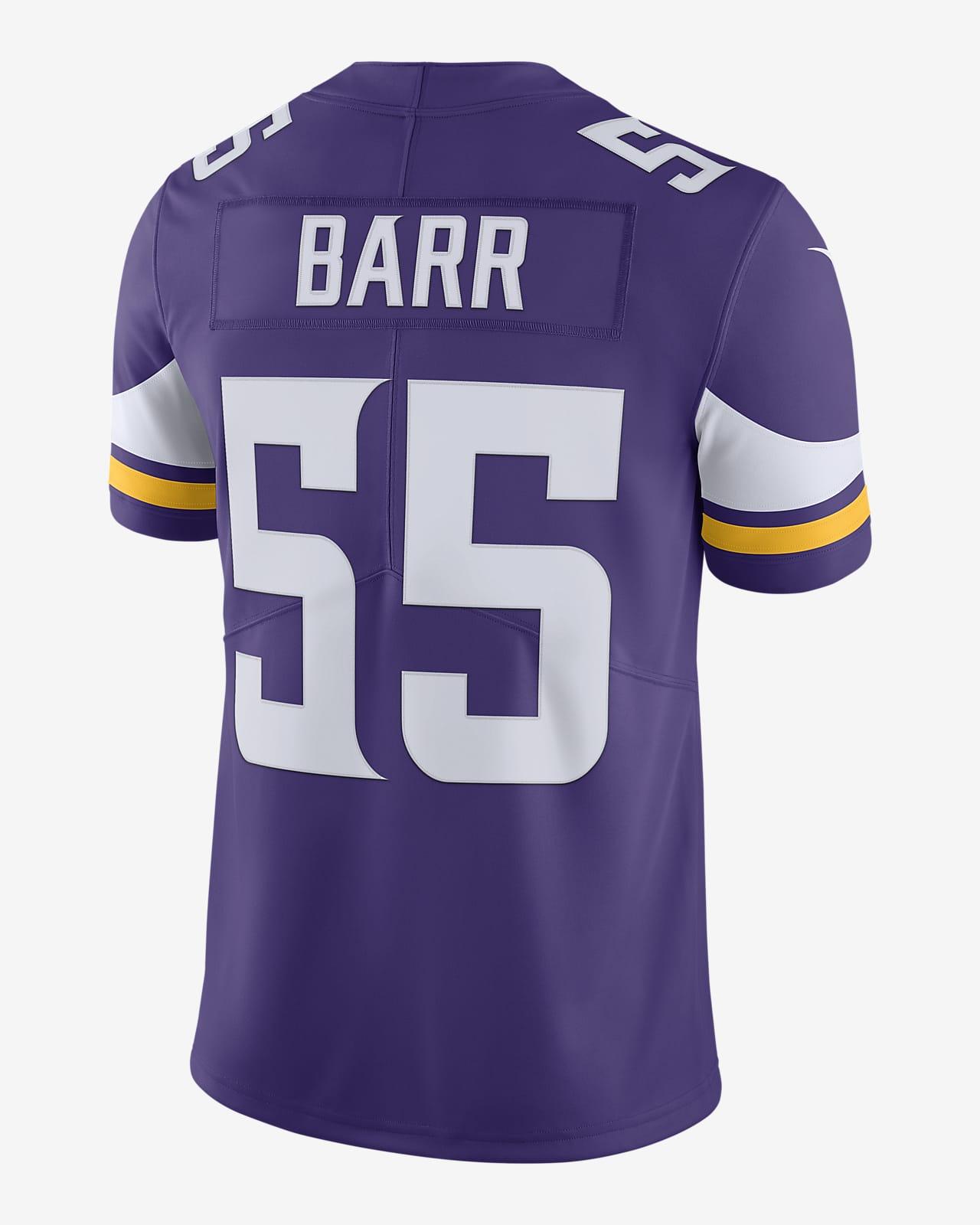 NFL Minnesota Vikings (Anthony Barr) Men's Limited Vapor Untouchable Football Jersey