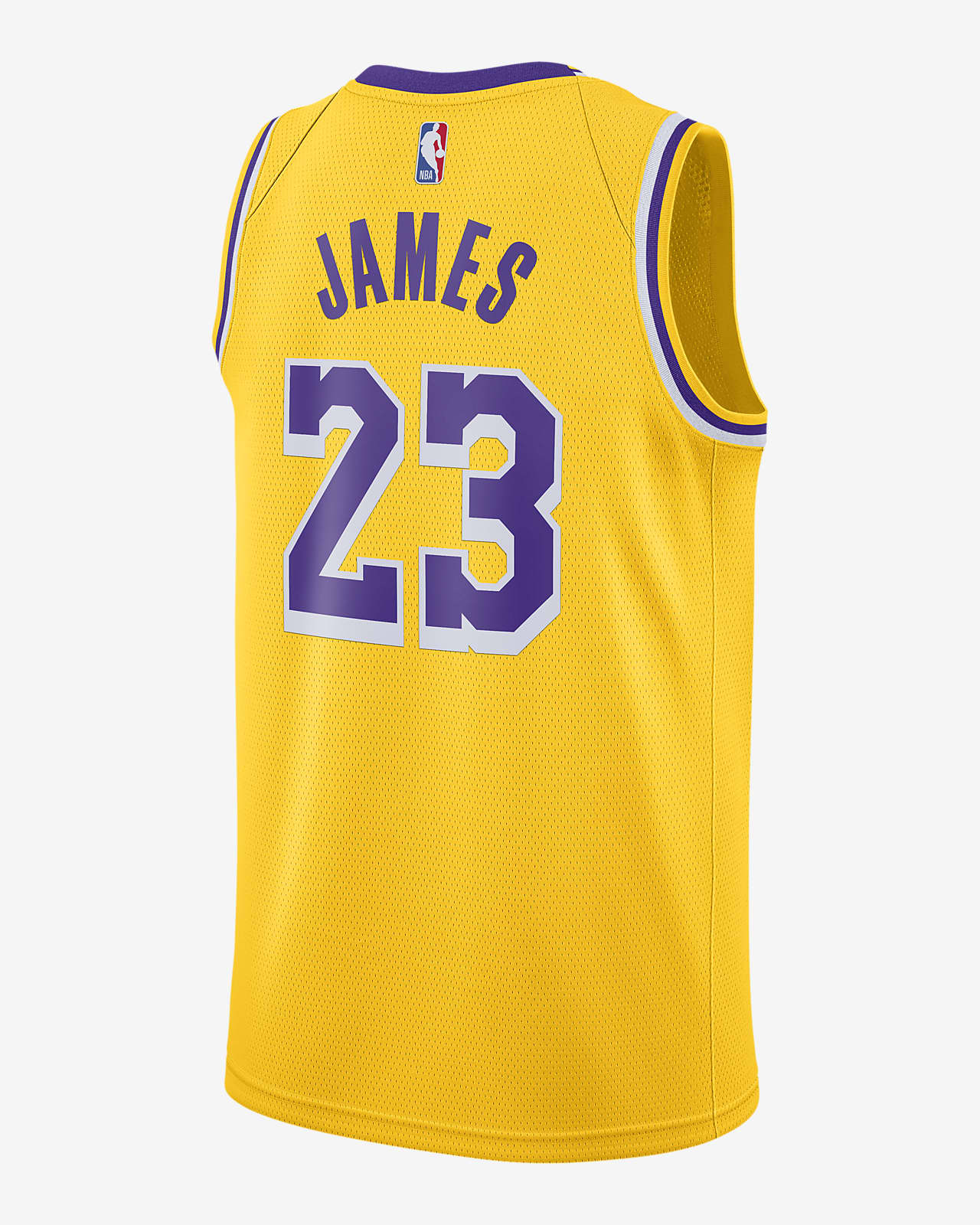 LeBron James Lakers Icon Edition 2020 Nike NBA Swingman Jersey