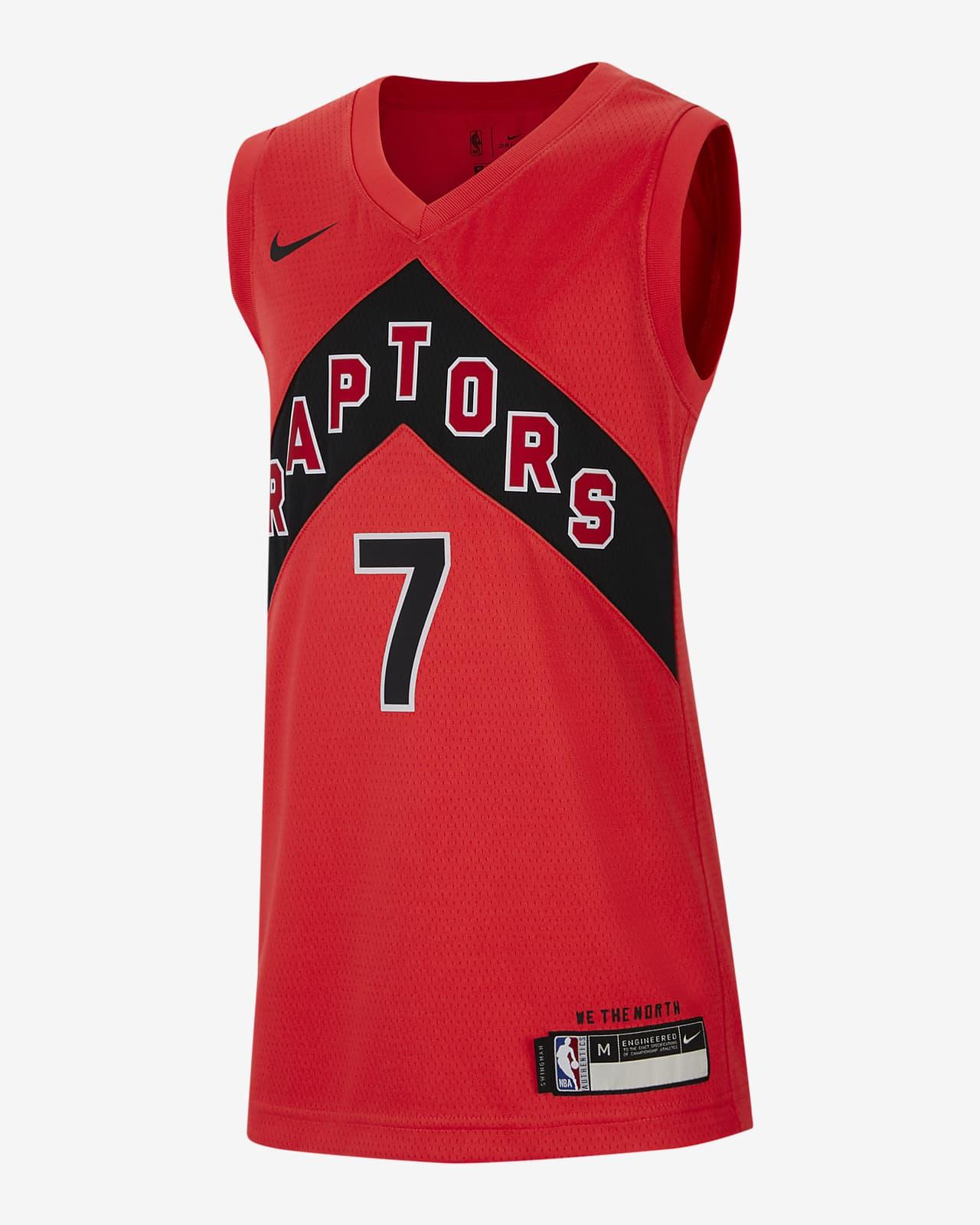Maillot Nike NBA Swingman Toronto Raptors Icon Edition pour Enfant plus âgé