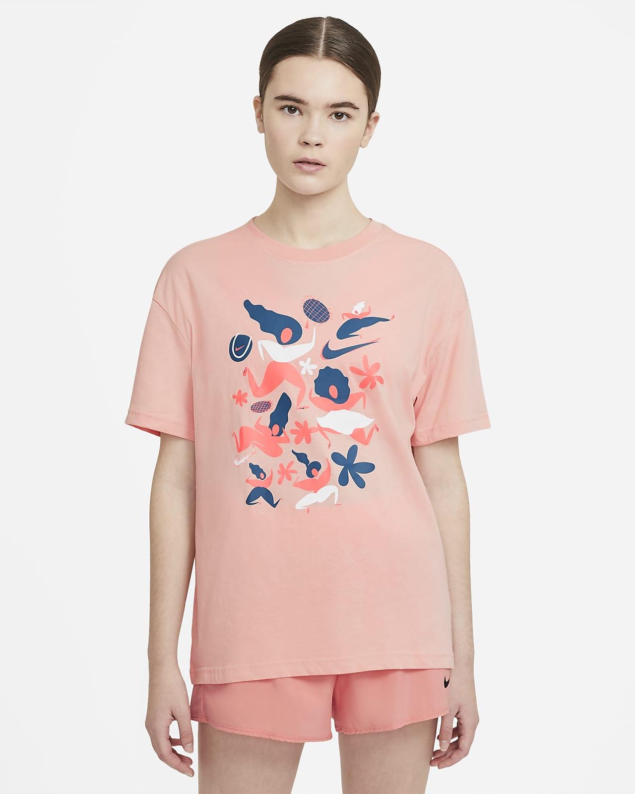 NikeCourt Tennis-T-skjorte til dame