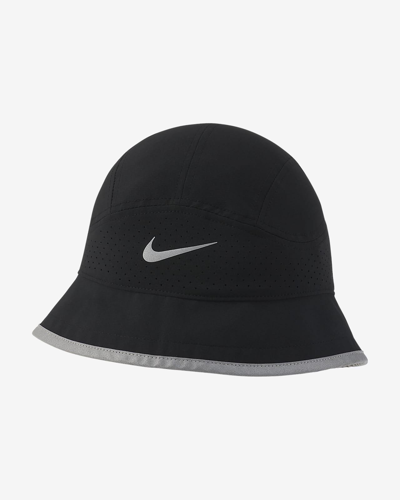 Καπέλο bucket με διατρήσεις για τρέξιμο Nike Dri-FIT