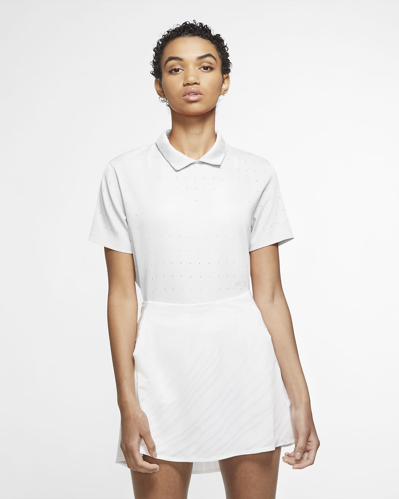 Nike Dri-FIT Ace-Golf-Poloshirt für Damen