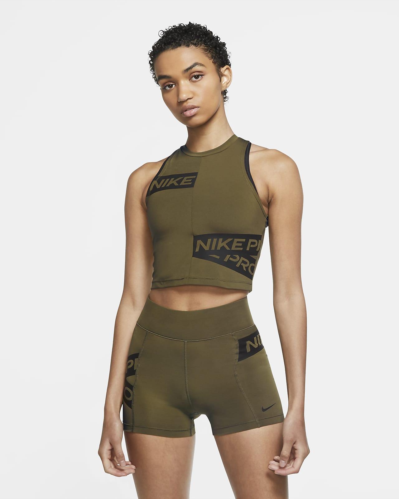 Nike Pro singlet med grafikk til dame