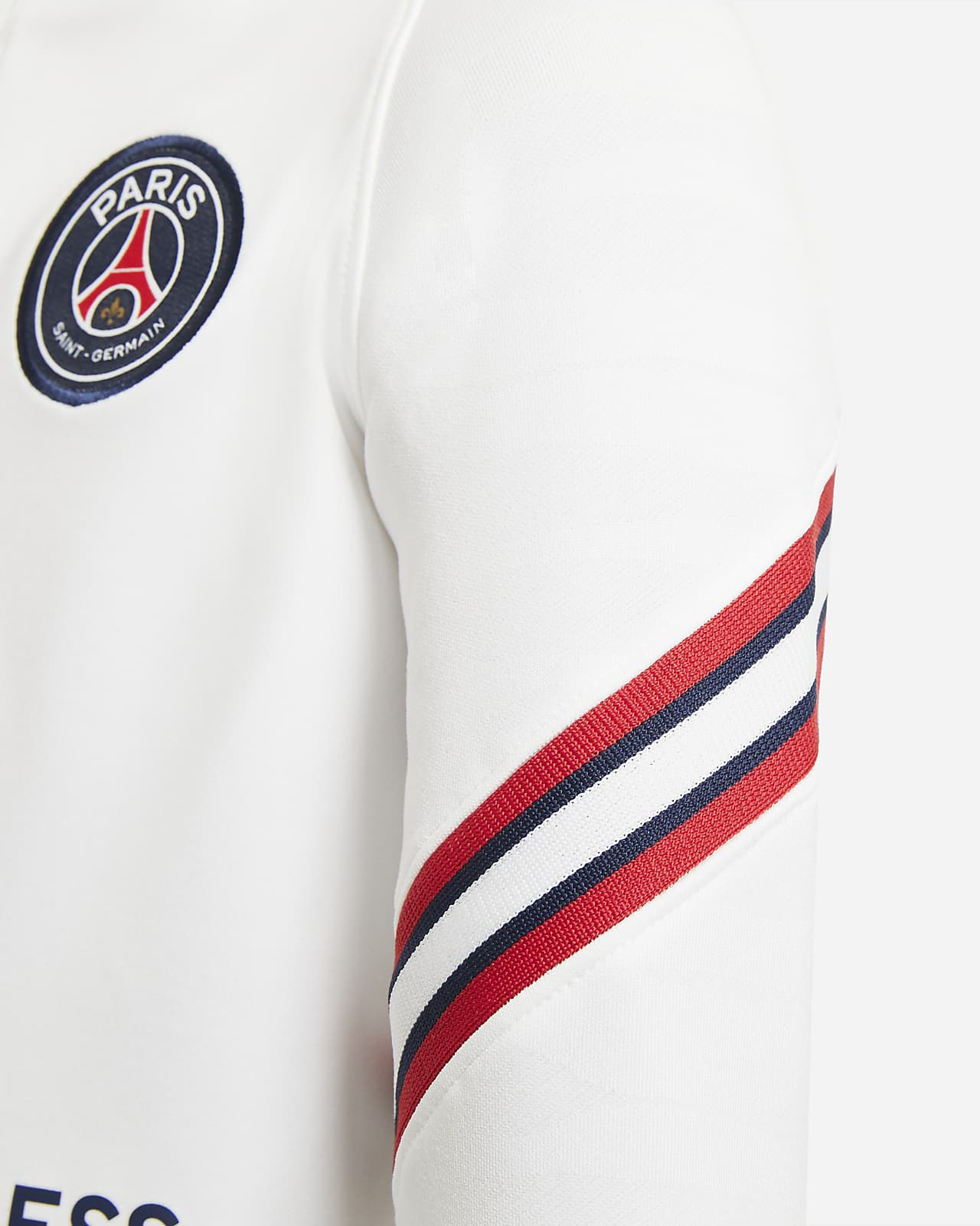 Paris Saint-Germain Strike Home Older Kids' Football Drill Top