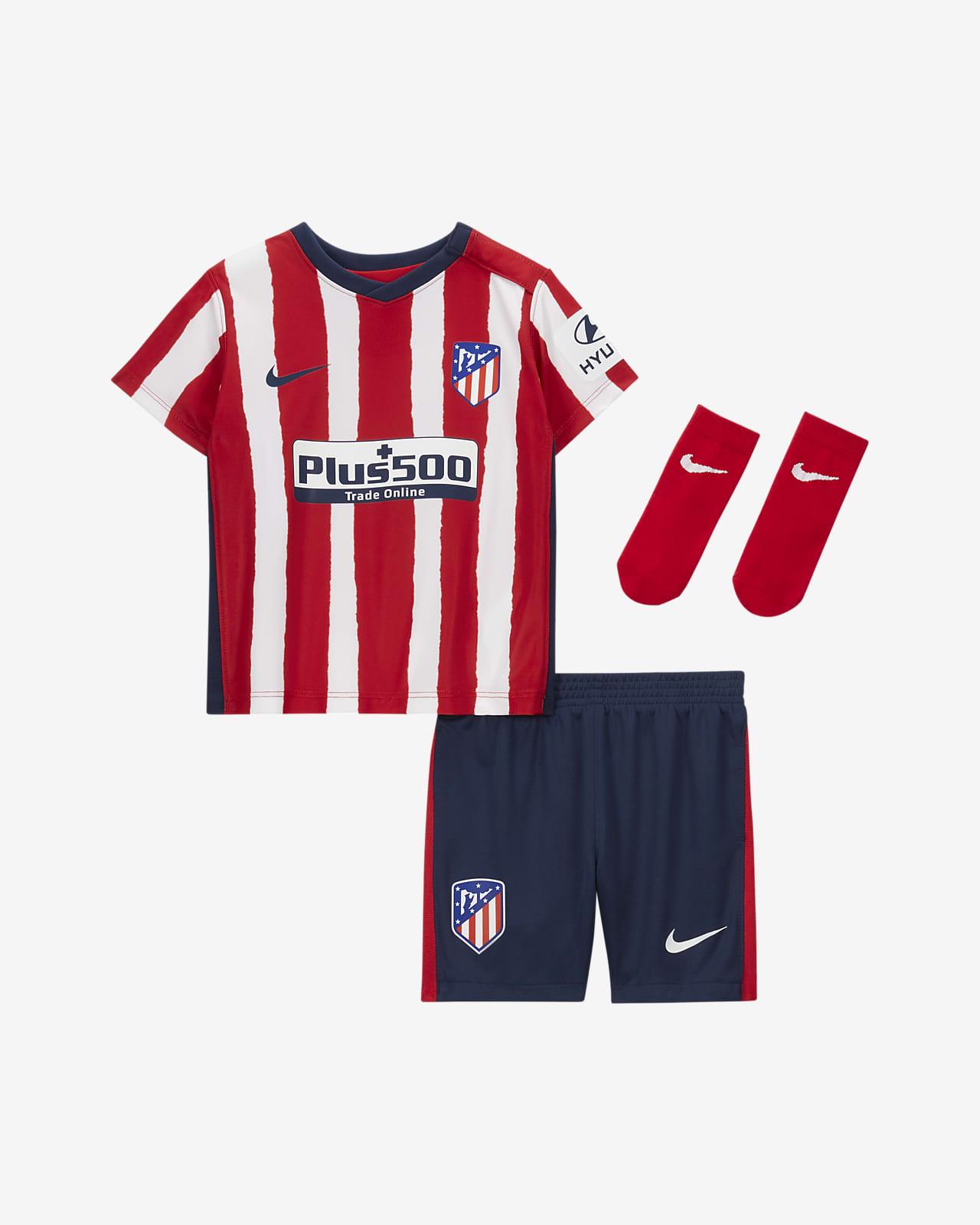 Atlético de Madrid 2020/21 Home futballszett babáknak