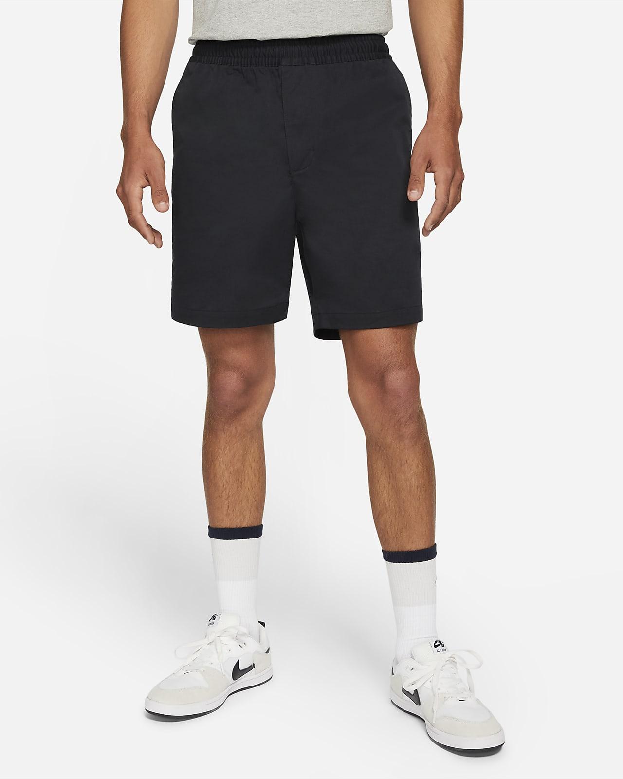 กางเกงชิโน่สเก็ตบอร์ดขาสั้นแบบดึงสวม Nike SB