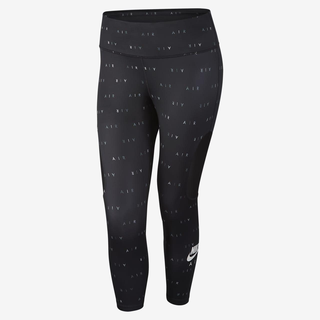 Legging de running 7/8 Nike Air pour Femme (grande taille)