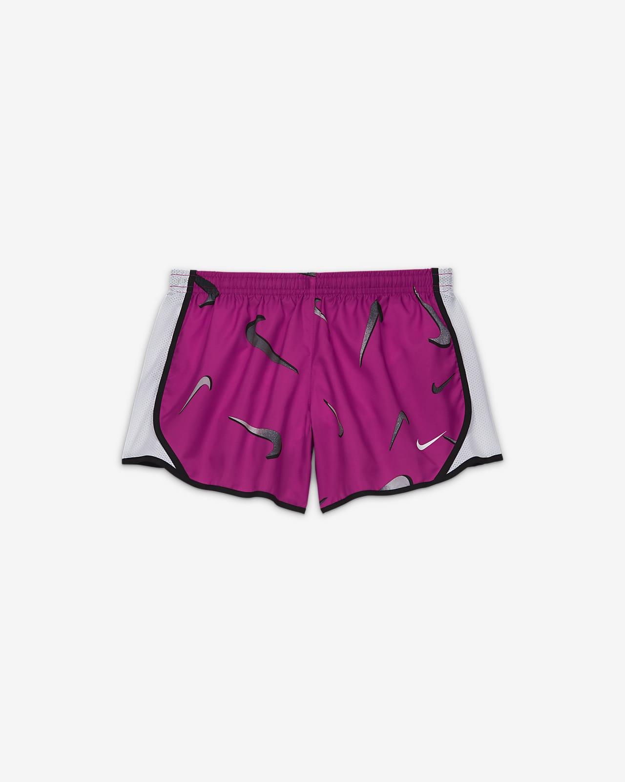 Nike Dri-FIT Tempo Older Kids' (Girls') Swoosh Training Shorts