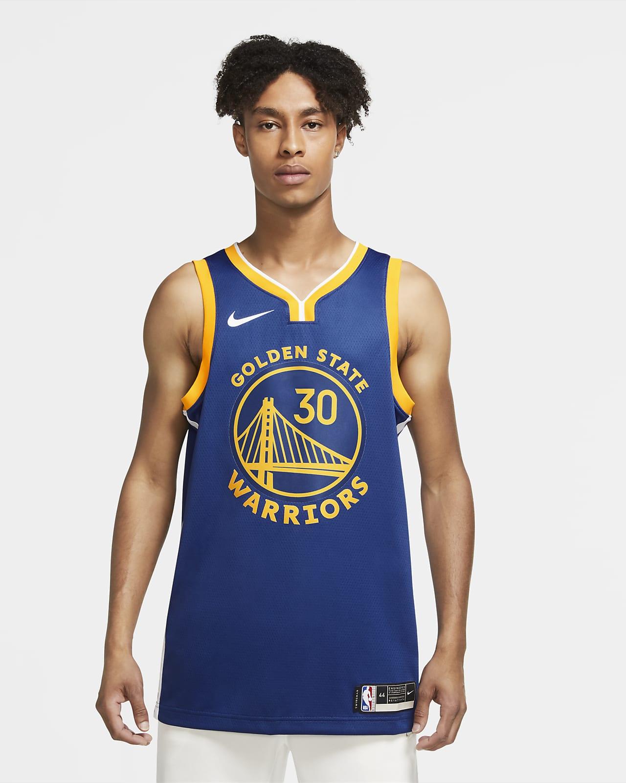 Джерси Nike НБА Swingman Stephen Curry Warriors Icon Edition 2020