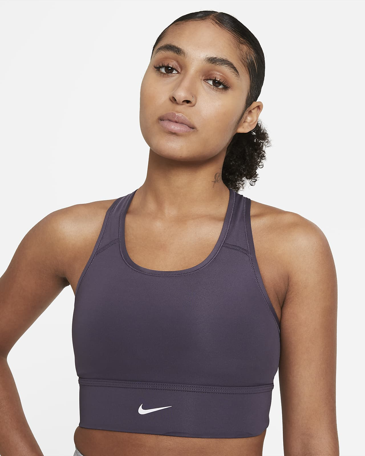 Nike Swoosh Women's Medium-Support Longline Sports Bra