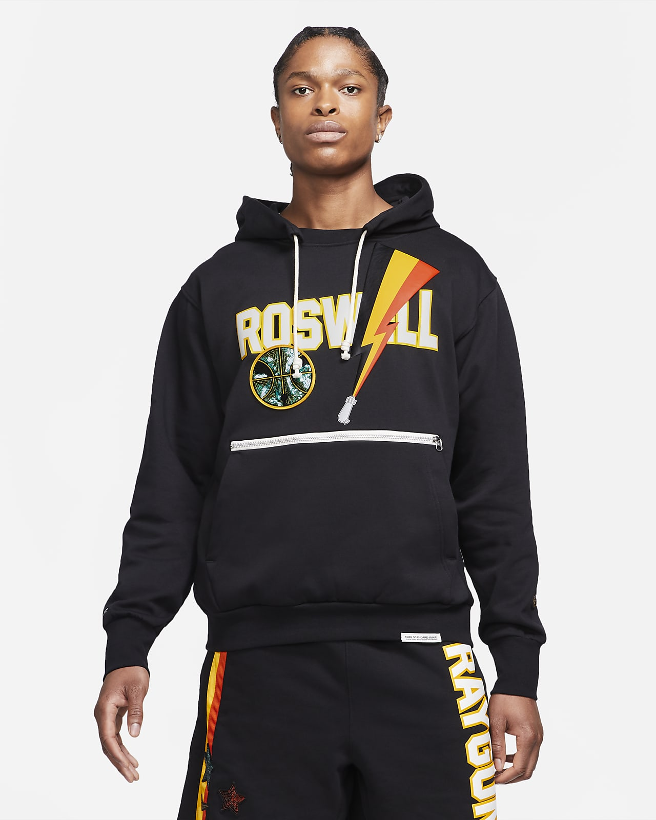 Nike Dri-FIT Rayguns hochwertiger Basketball-Hoodie für Herren