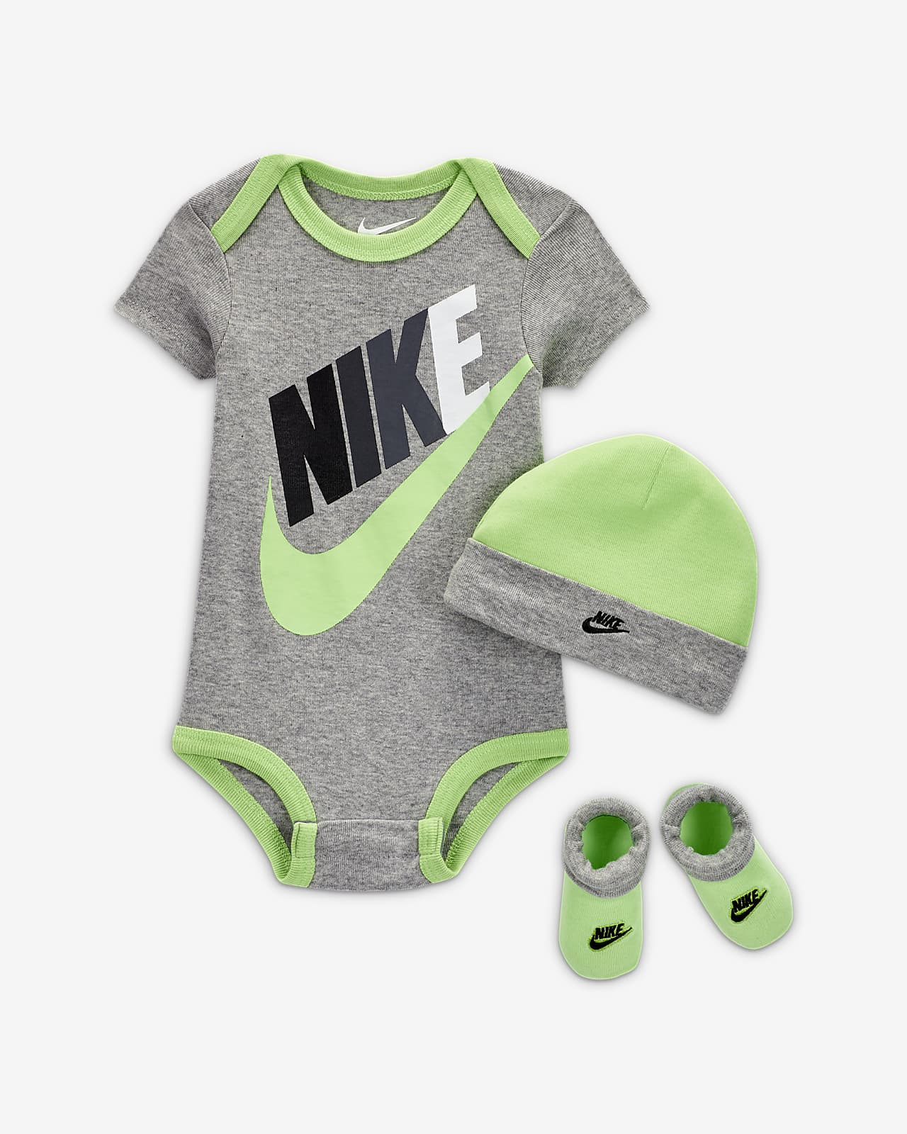 Conjunto de 3 peças Nike Sportswear para bebé