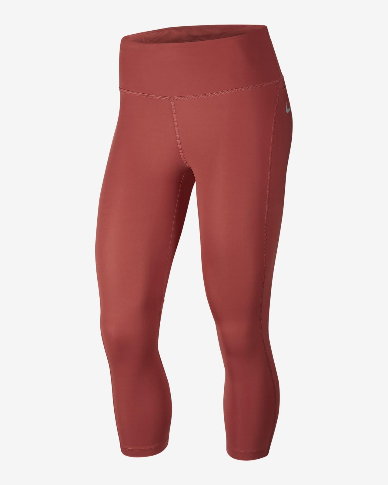 เลกกิ้งวิ่งเอวปานกลาง 5 ส่วนผู้หญิง Nike Epic Fast