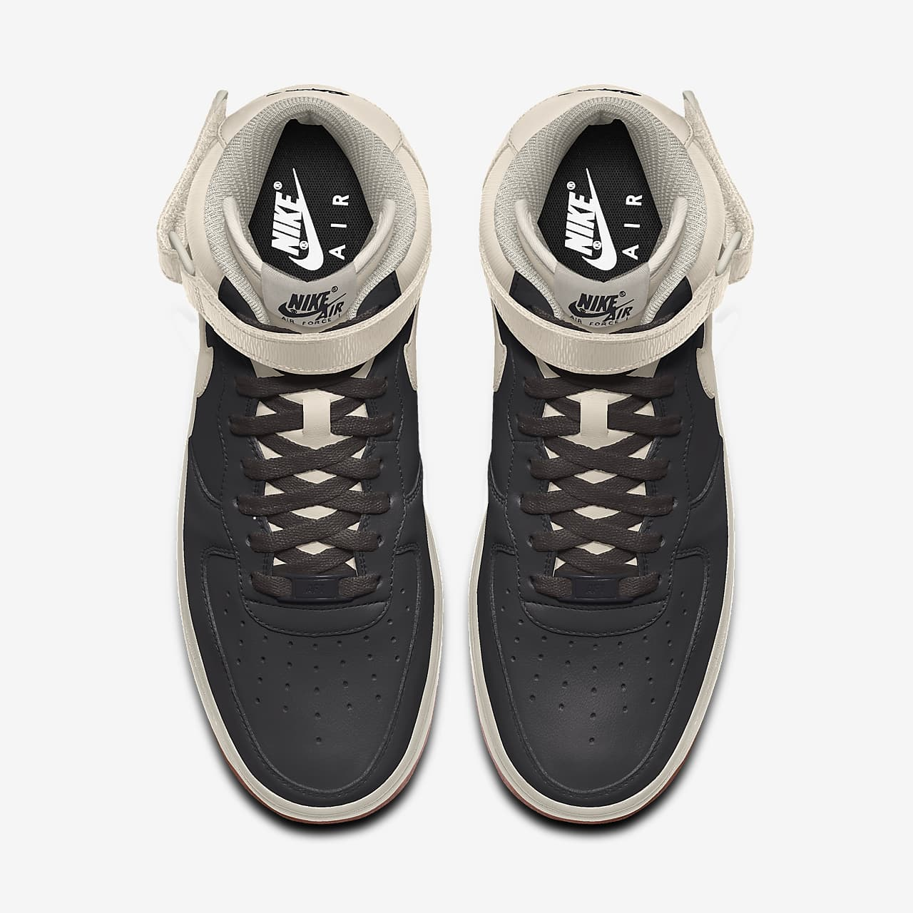 Scarpa personalizzabile Nike Air Force 1 Mid By You - Donna. Nike CH