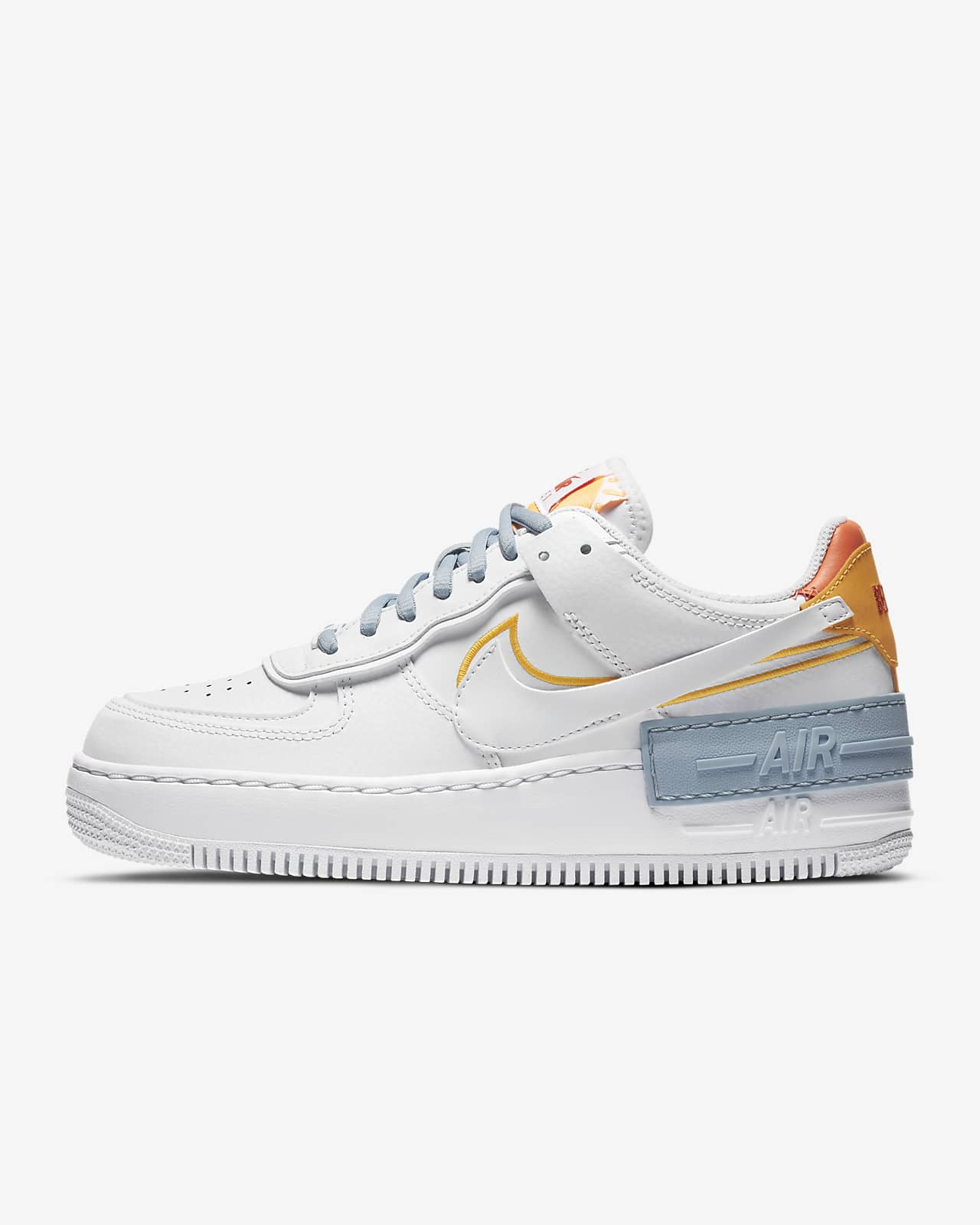 air force 1 shadow naranja